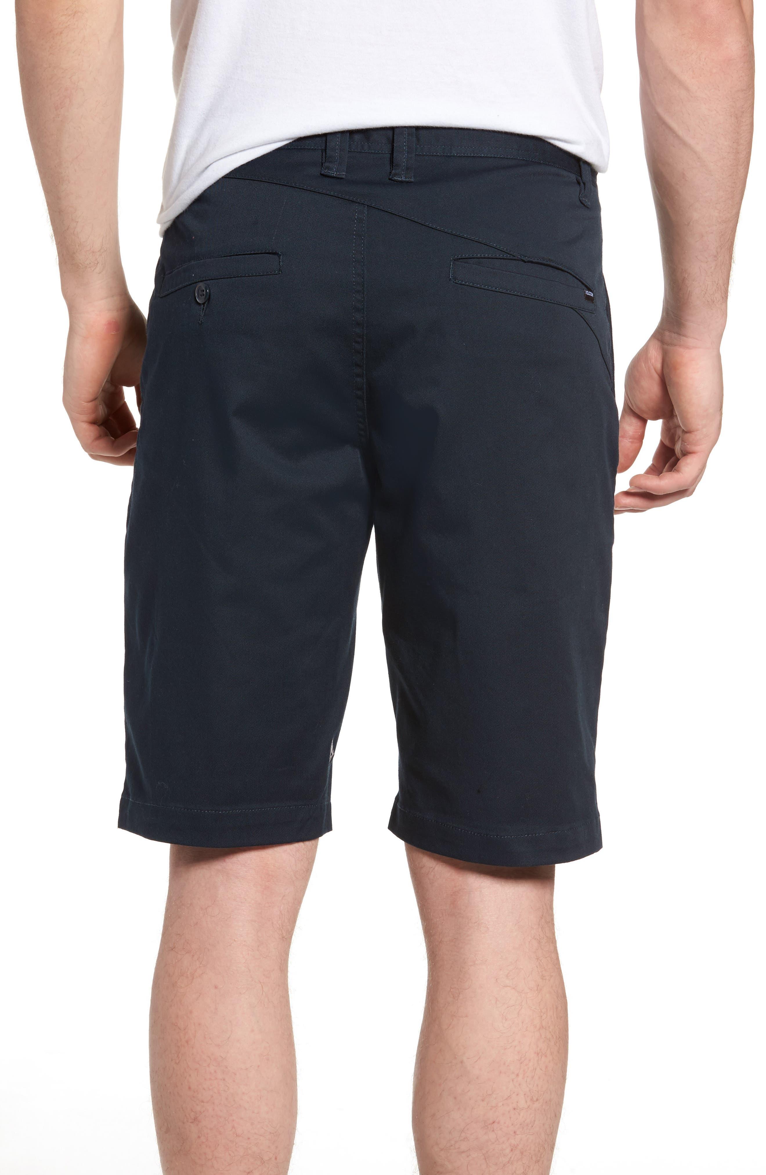 'Modern' Stretch Chino Shorts,                             Alternate thumbnail 22, color,