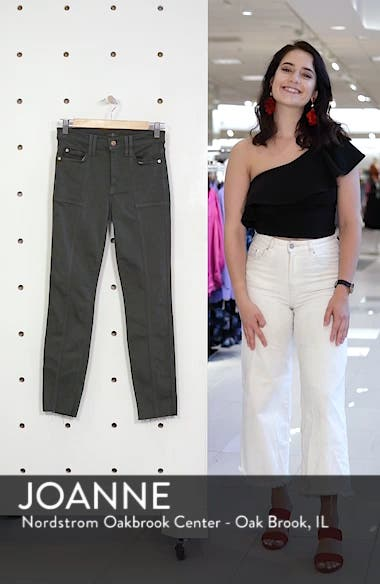 Roxanne Paneled Ankle Slim Jeans, sales video thumbnail