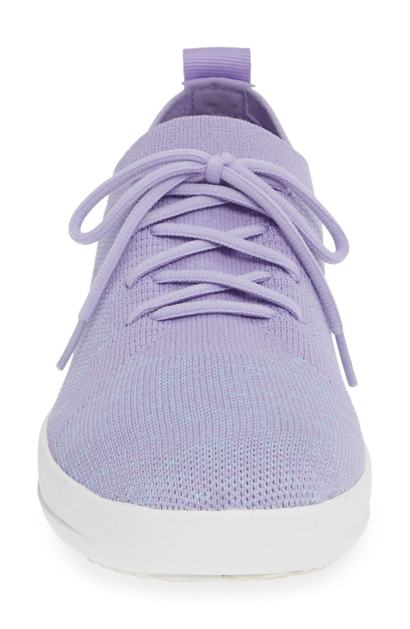 F-Sporty Uberknit<sup>™</sup> Sneaker,                             Alternate thumbnail 4, color,                             FROSTED LAVENDER MIX
