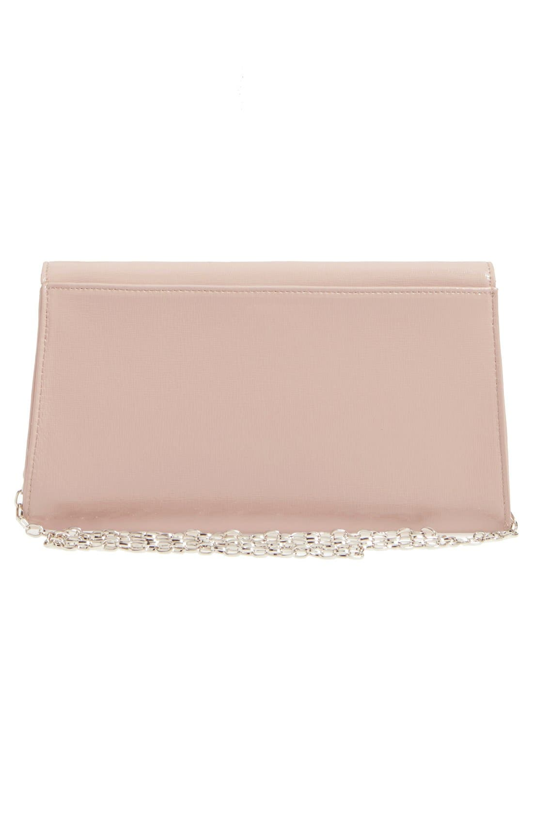 Leather Clutch,                             Alternate thumbnail 40, color,