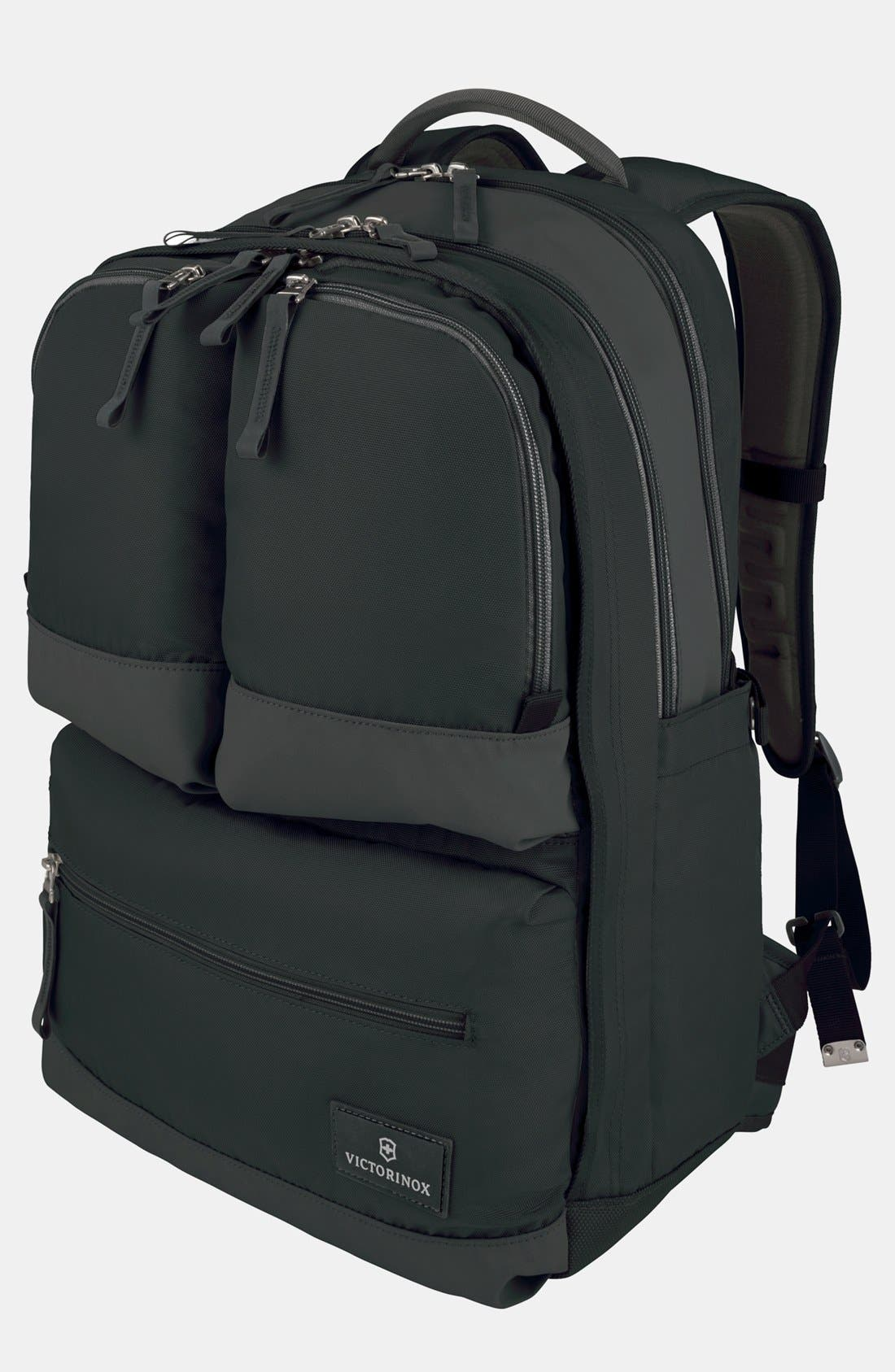 Dual Compartment Backpack,                         Main,                         color, 001