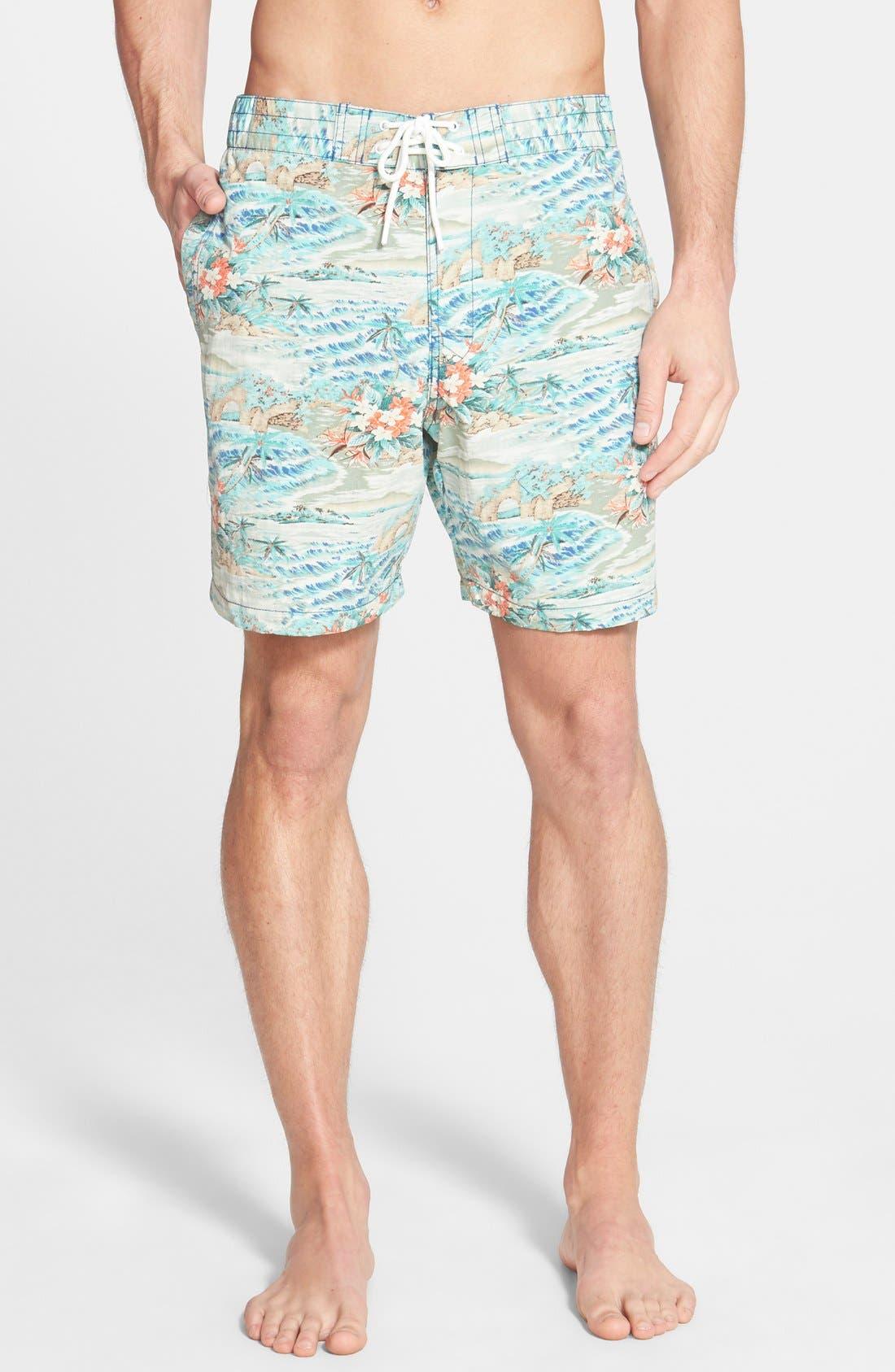 'Black Sands' Board Shorts,                         Main,                         color, 433
