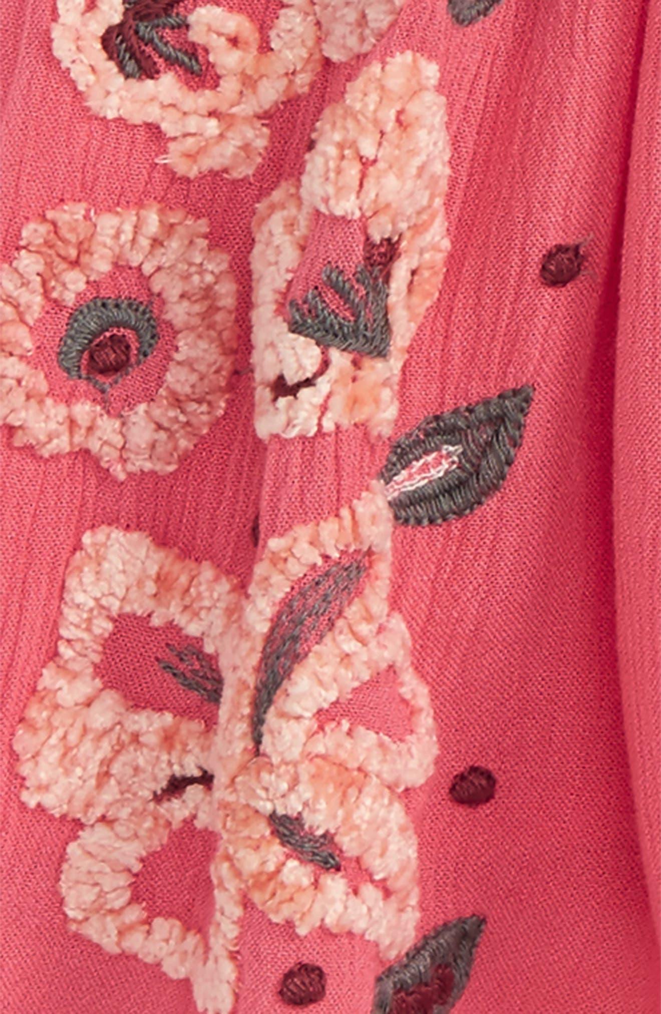 Eva Gauze Dress,                         Main,                         color, 514