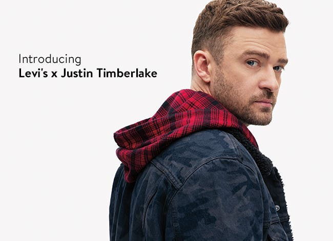 Introducing Levi's x Justin Timberlake.