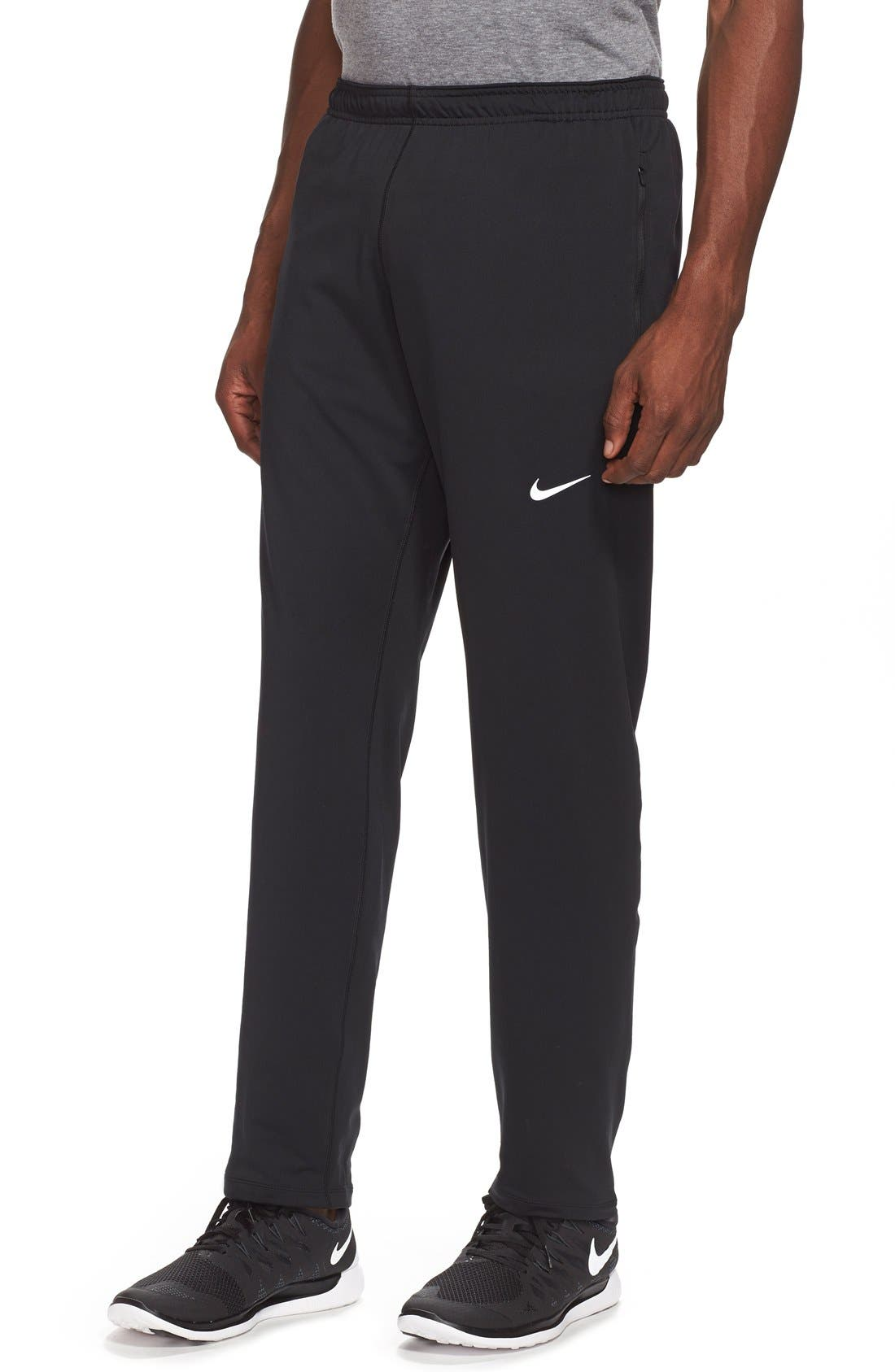 'Y20' Tapered Fit Dri-FIT Running Stretch Pants, Main, color, 010