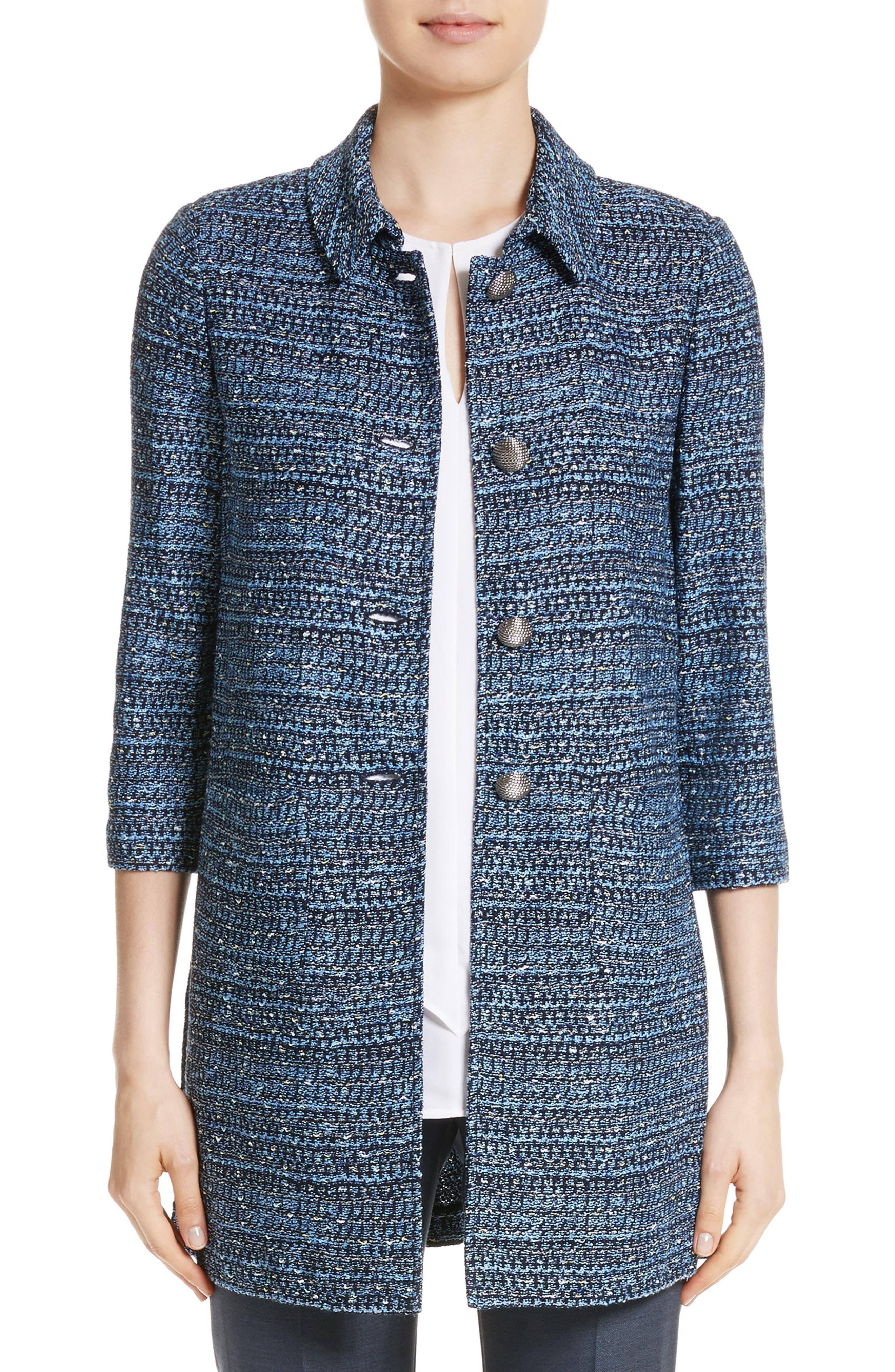 Patch Pocket Knit Topper,                         Main,                         color, 410