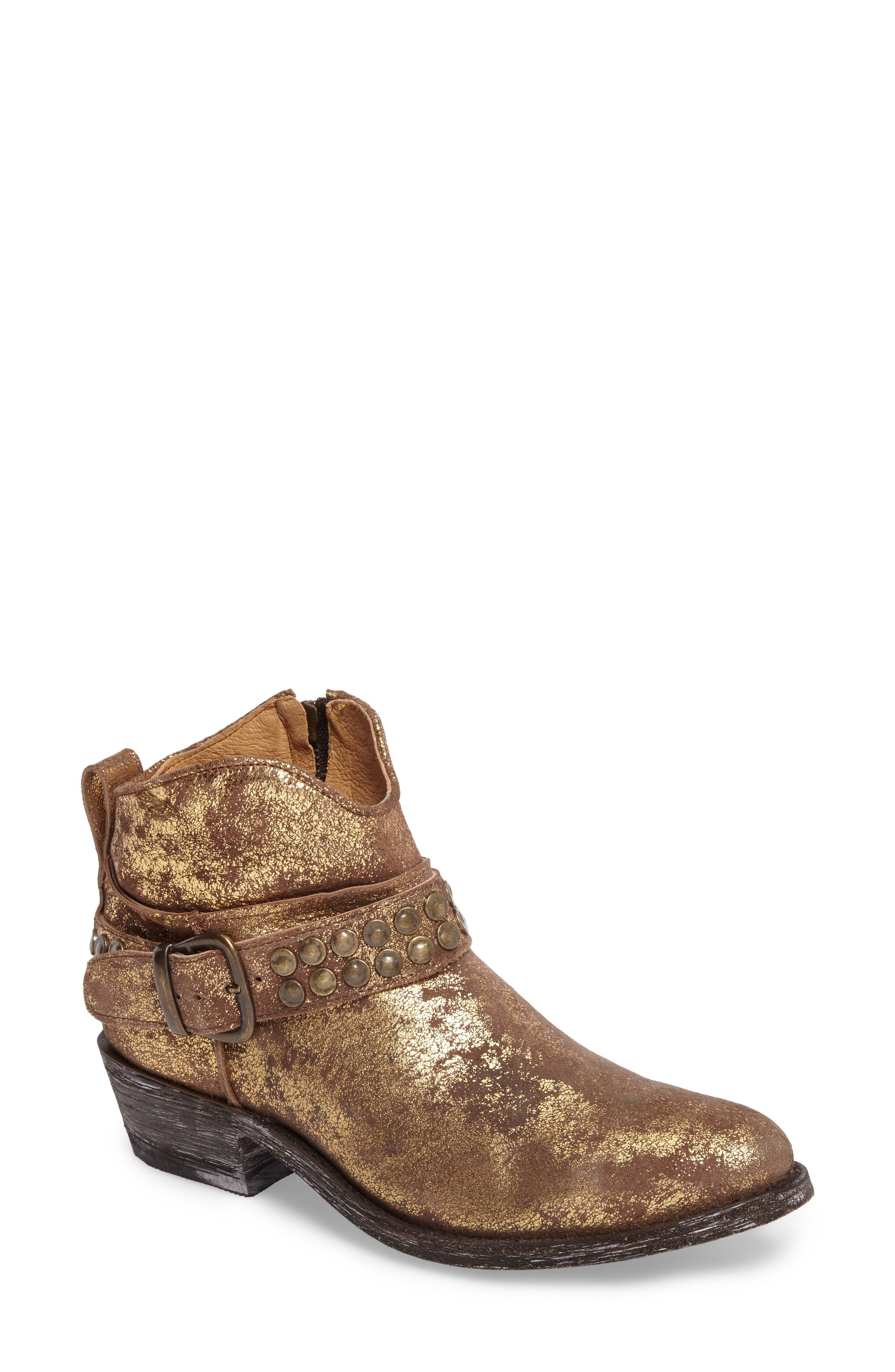 Serene Western Boot,                         Main,                         color, COPPER LEATHER