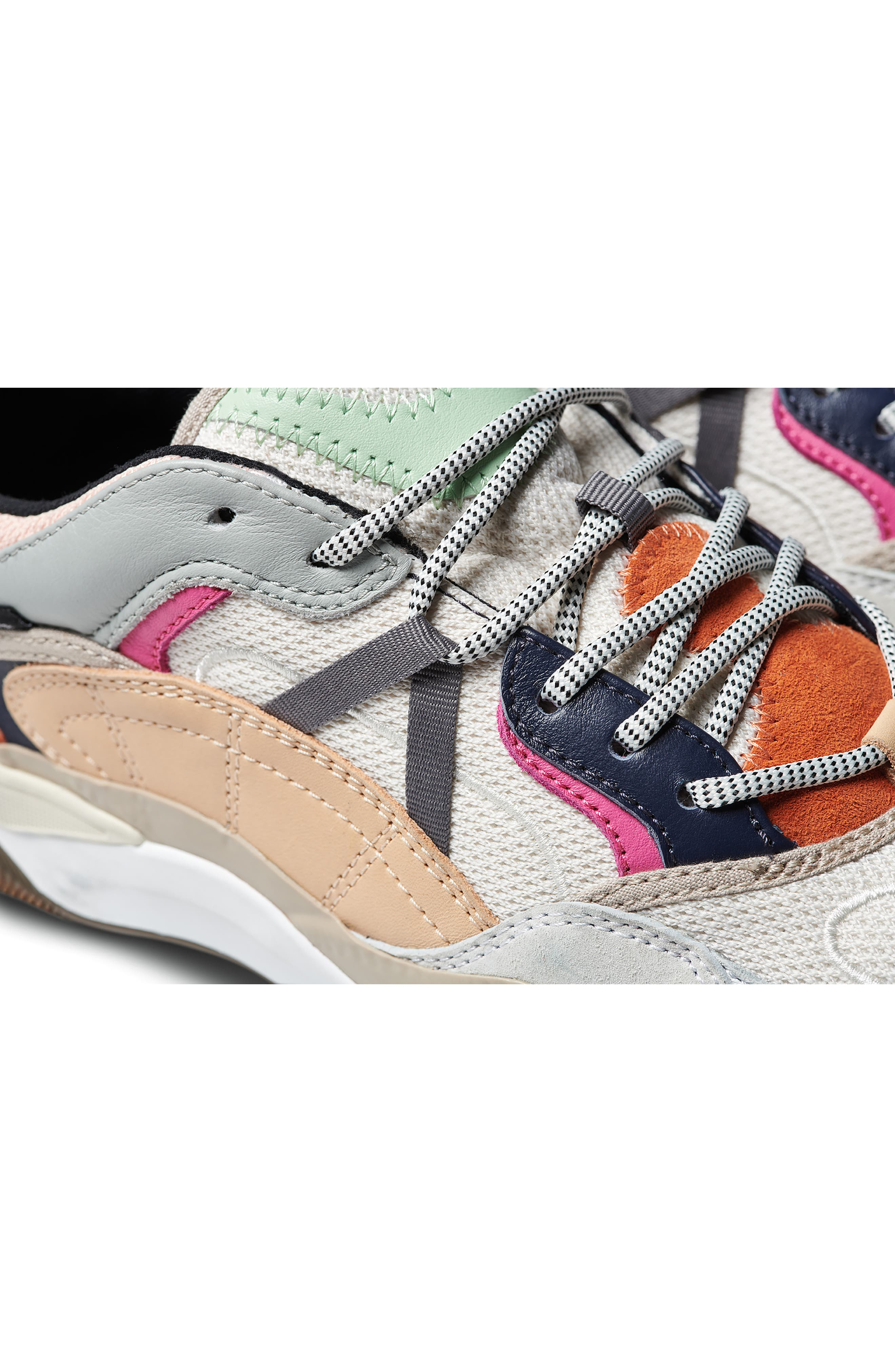 VANS,                             Varix WC Sneaker,                             Alternate thumbnail 9, color,                             TURTLEDOVE/ TRUE WHITE LEATHER