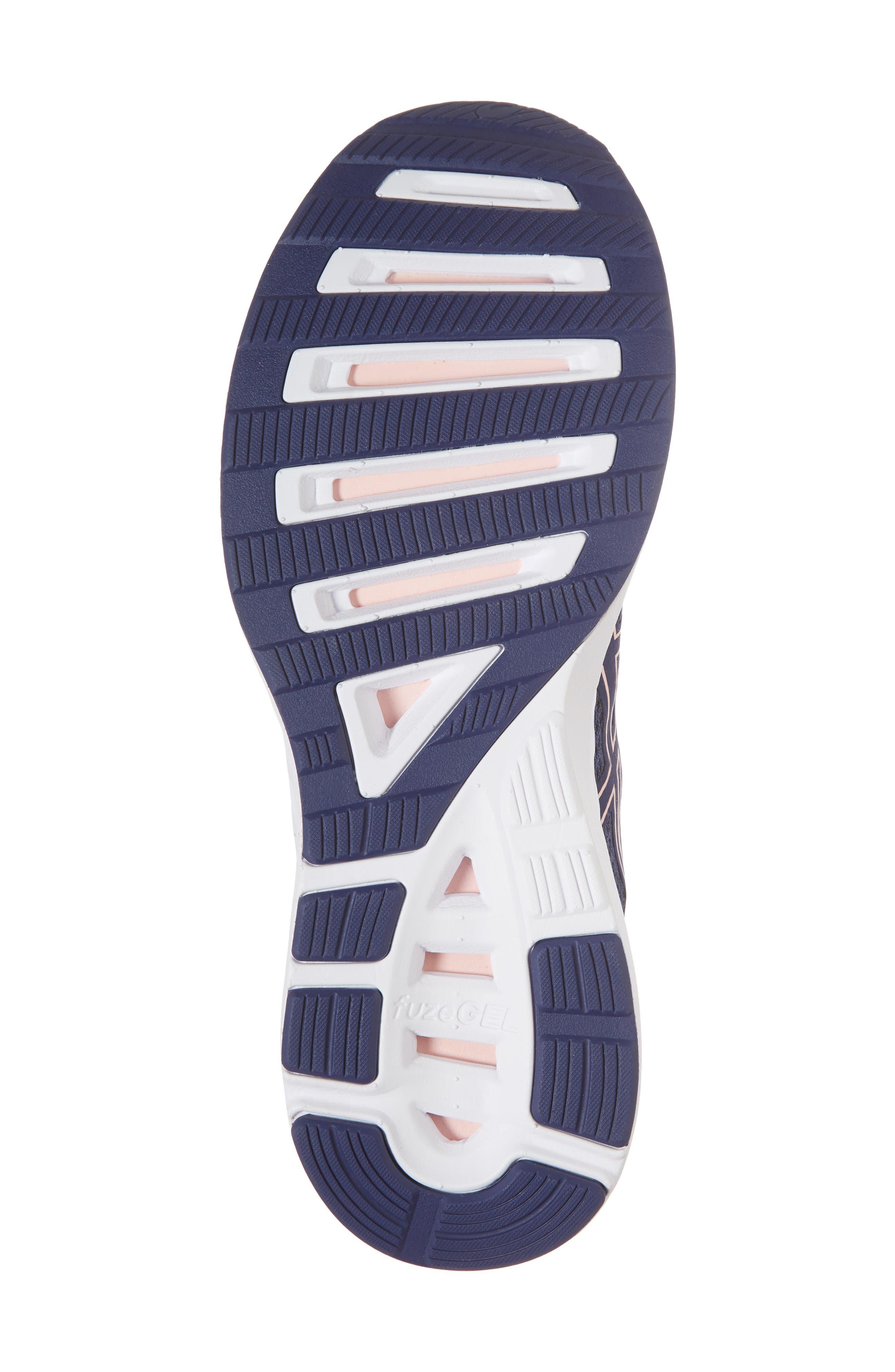 FuzeX Lyte 2 Running Shoe,                             Alternate thumbnail 6, color,                             INDIGO BLUE/ FROSTED ROSE