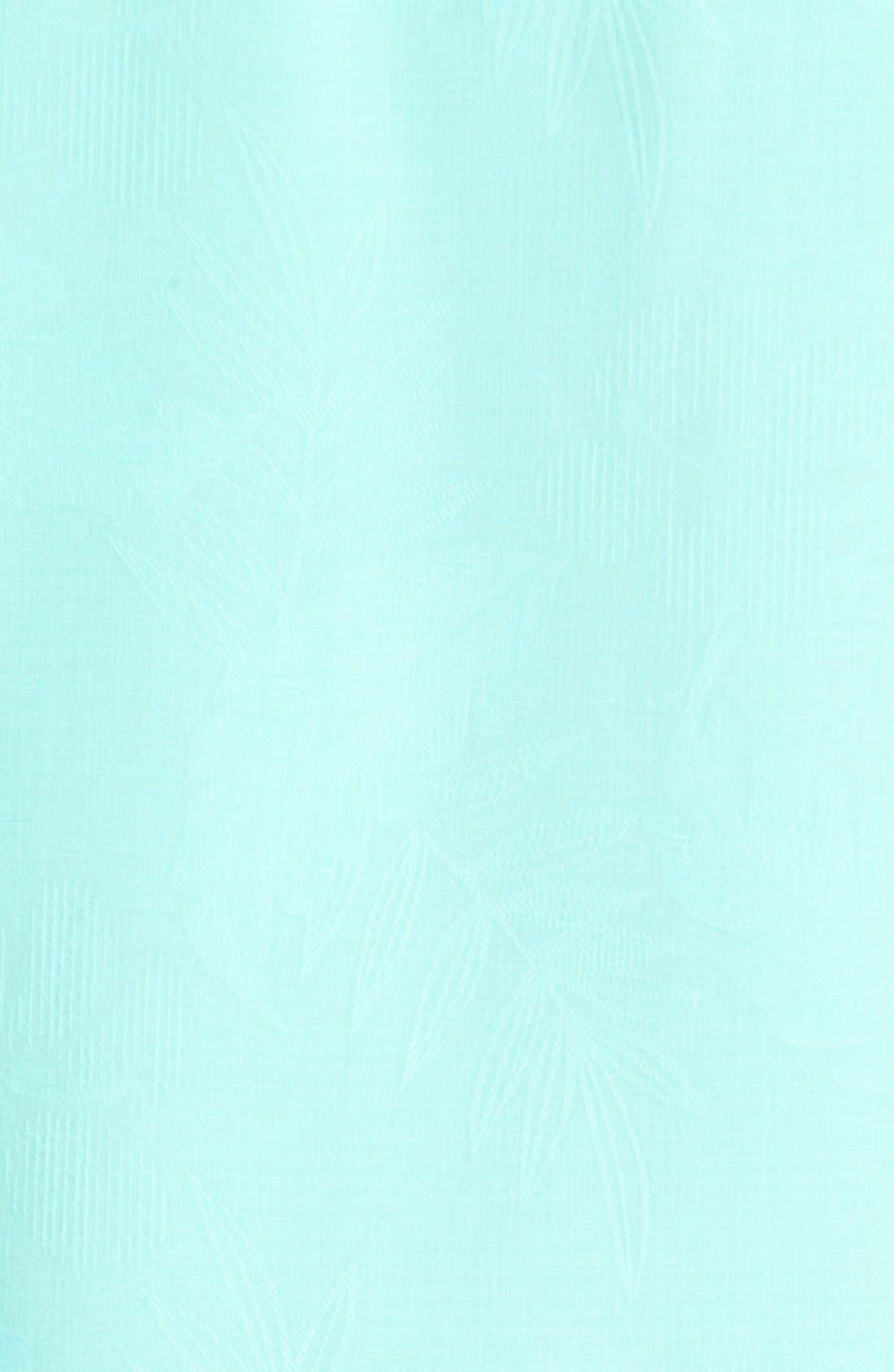 Rio Fronds Short Sleeve Silk Sport Shirt,                             Alternate thumbnail 84, color,