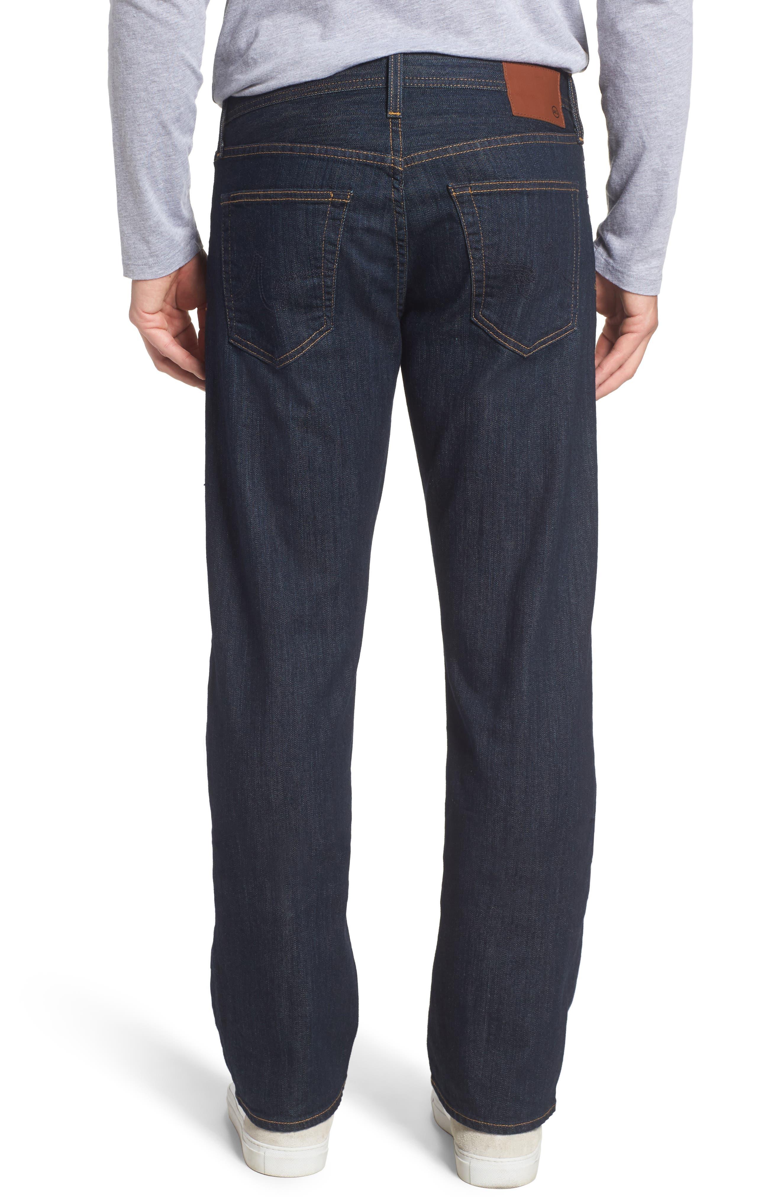 'Protégé' Straight Leg Jeans,                             Alternate thumbnail 2, color,                             016
