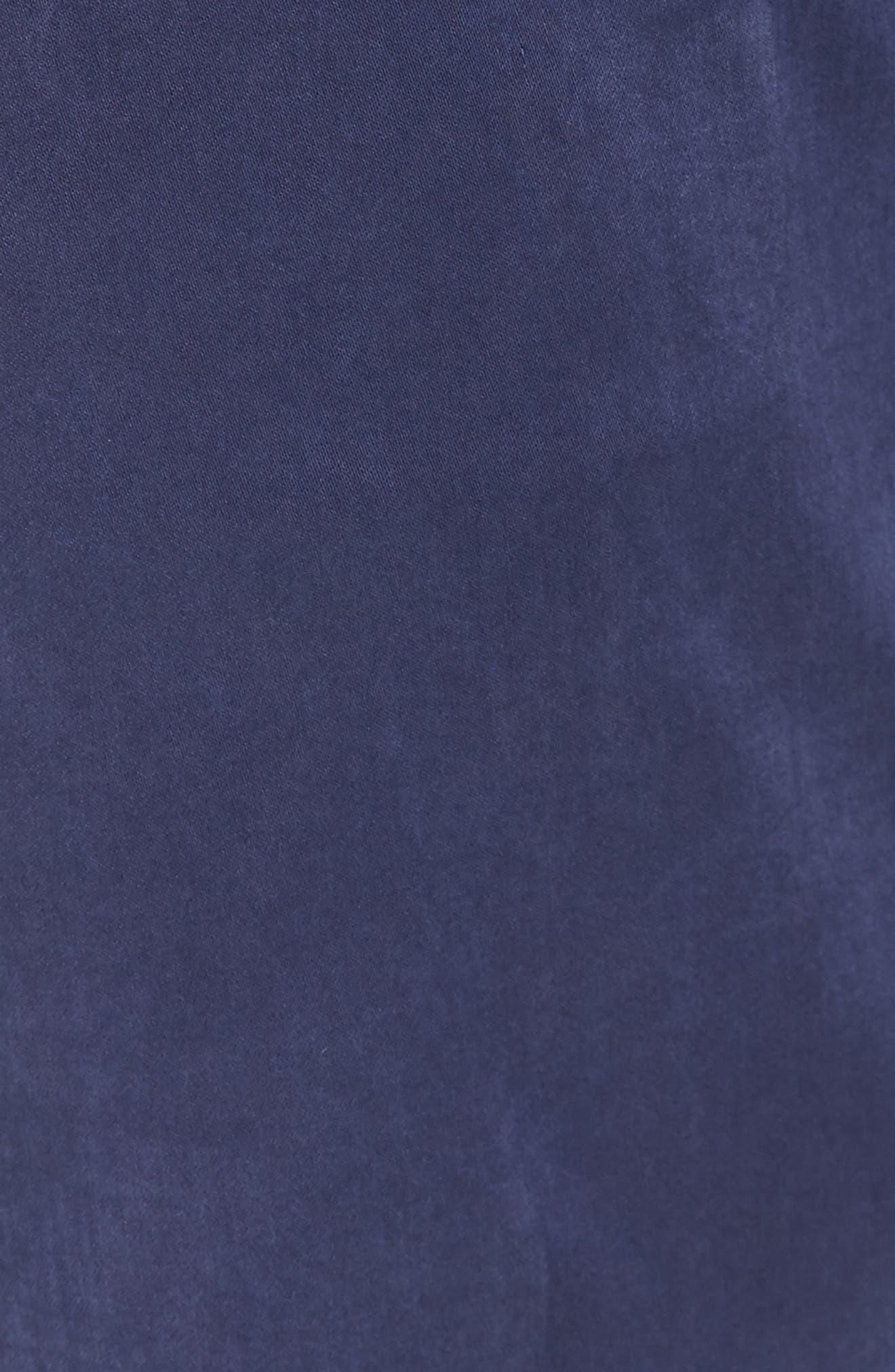 Slim Fit Washed Five-Pocket Pants,                             Alternate thumbnail 19, color,