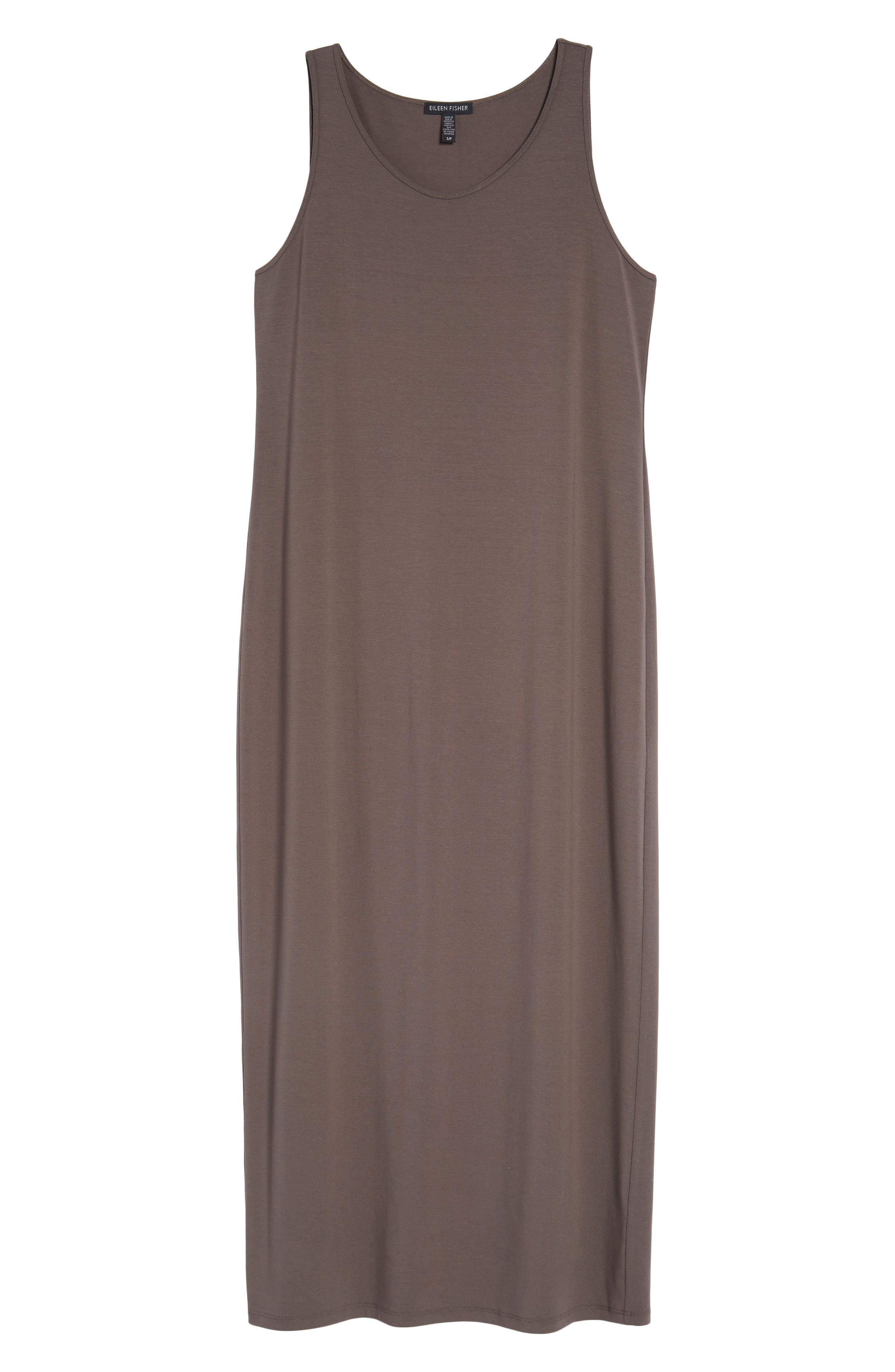 Scoop Neck Jersey Midi Dress,                             Alternate thumbnail 6, color,                             024