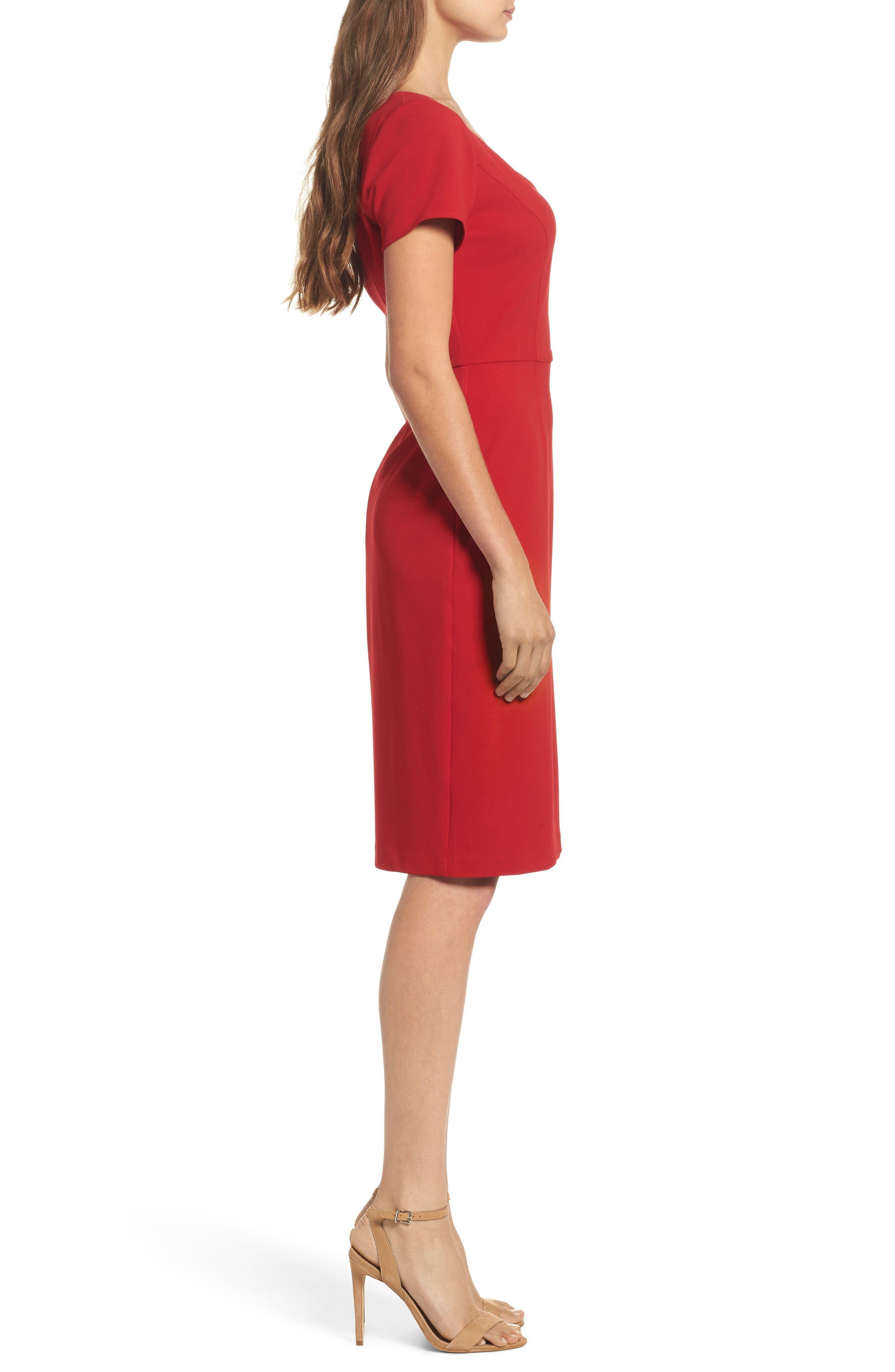 Sheath Dress,                             Alternate thumbnail 3, color,                             600