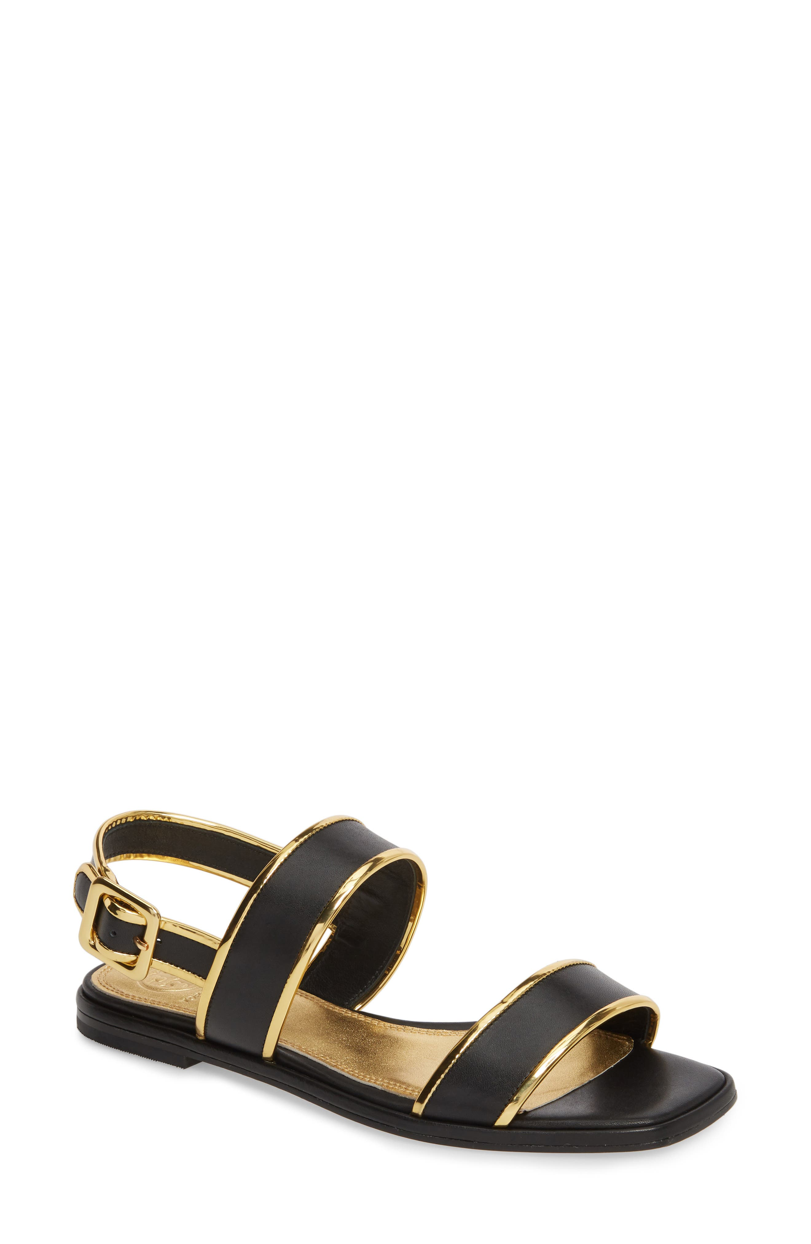 Delaney Double Strap Sandal,                             Main thumbnail 1, color,