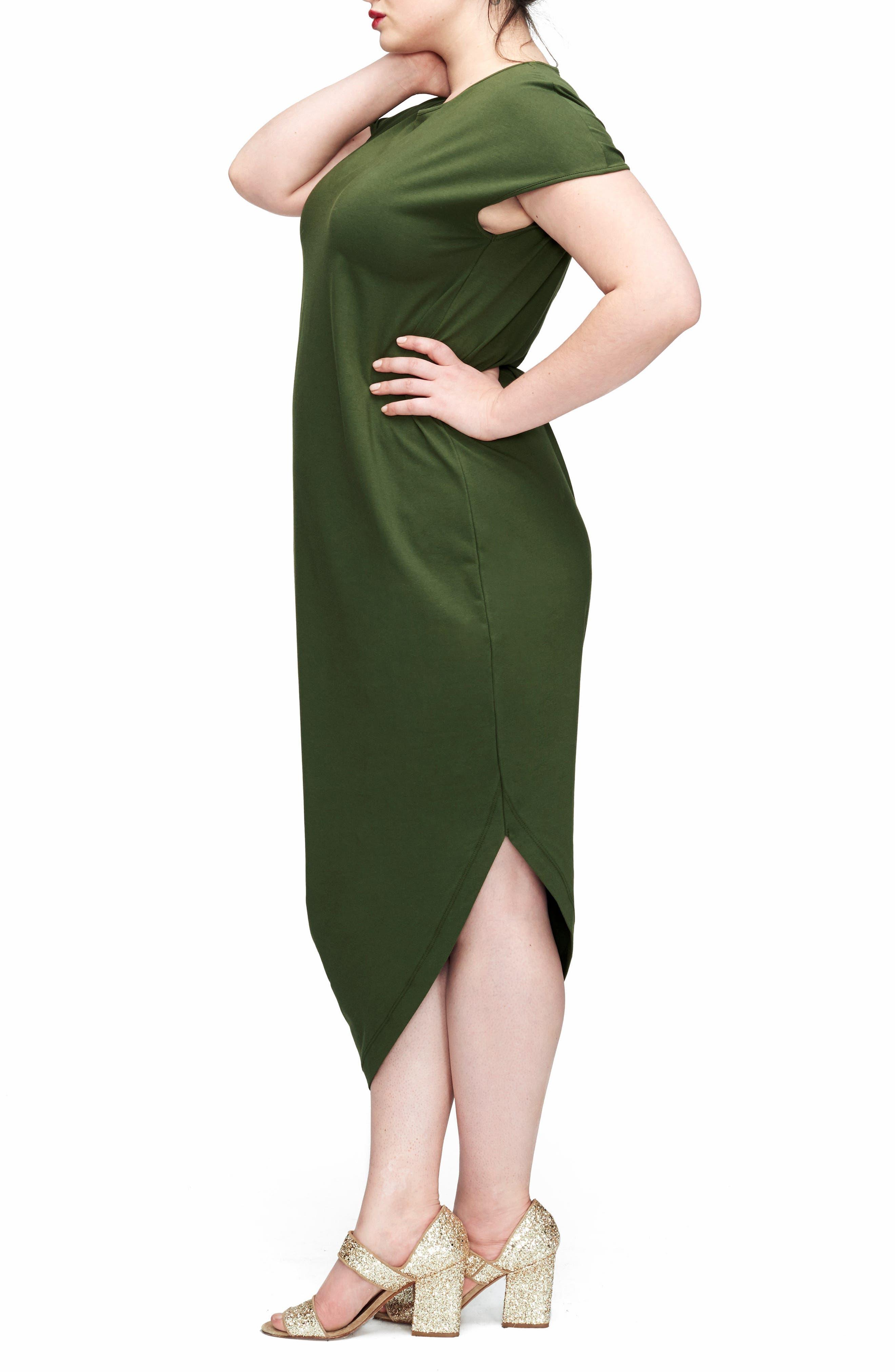 Geneva Dress,                             Alternate thumbnail 3, color,                             CAMO