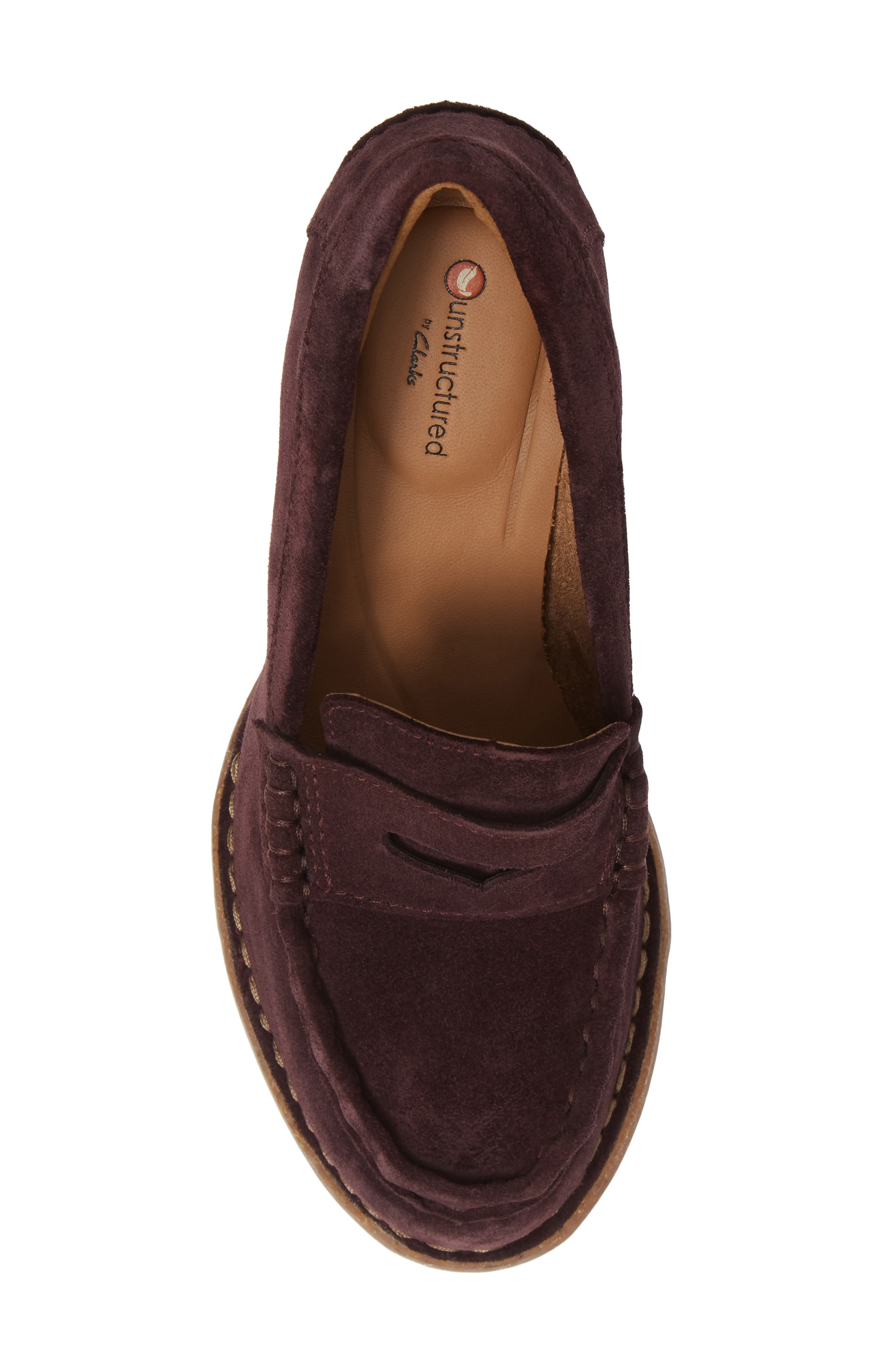 Carletta Belle Pump,                             Alternate thumbnail 5, color,                             BURGUNDY SUEDE