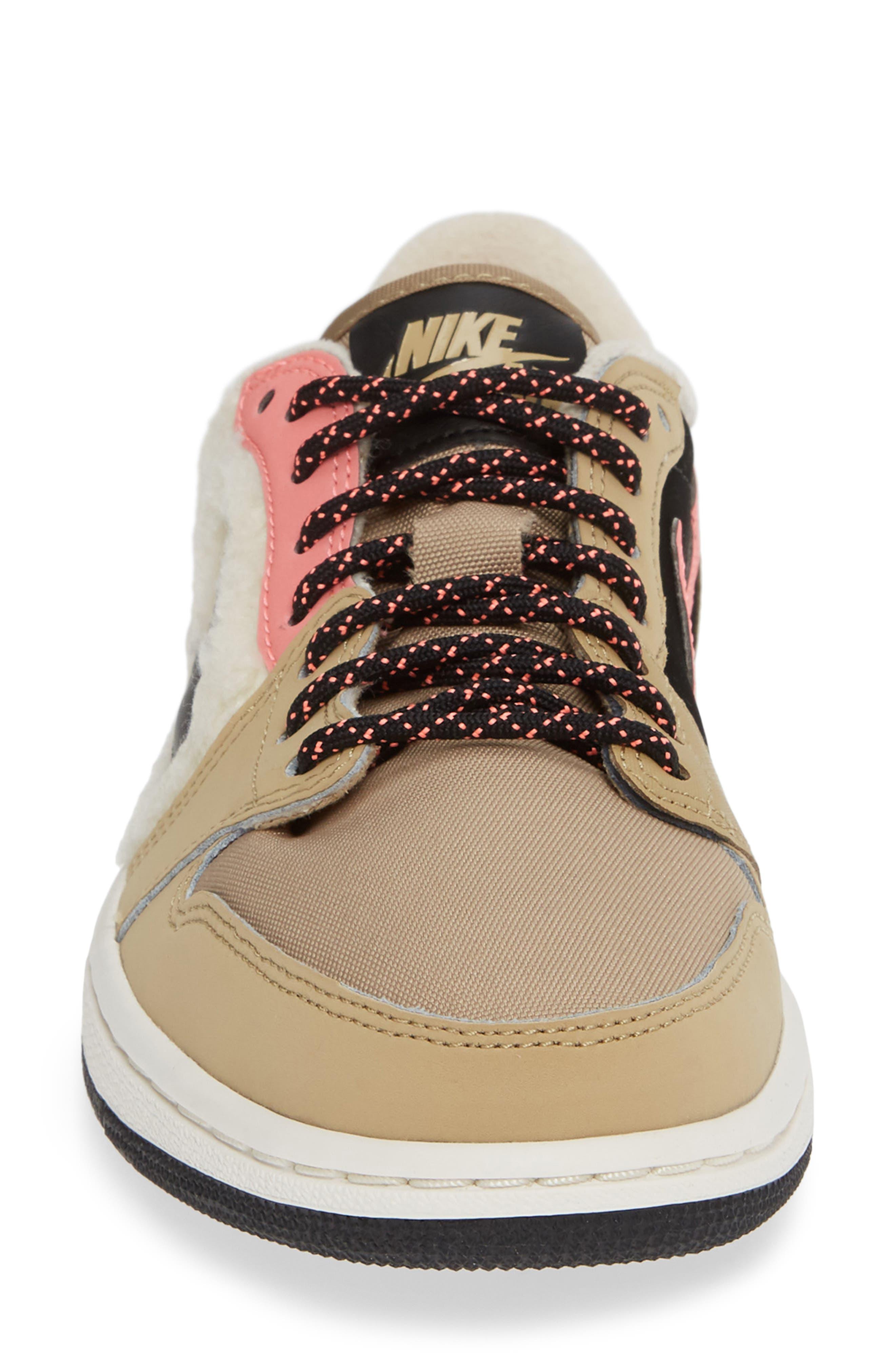 NIKE,                             Air Jordan 1 Retro Low OG Sneaker,                             Alternate thumbnail 4, color,                             200