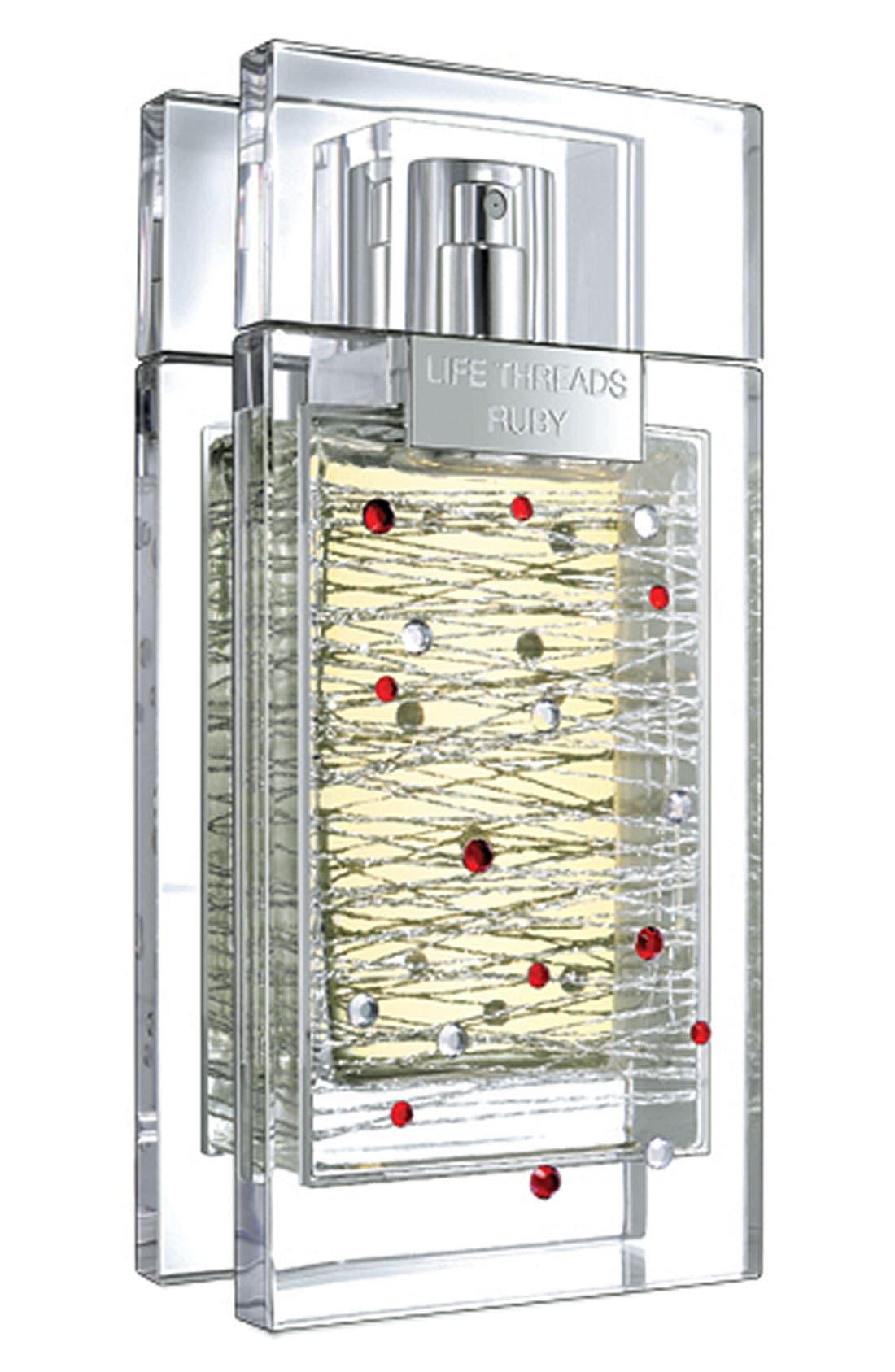 'Life Threads Ruby' Eau de Parfum,                             Main thumbnail 1, color,                             000