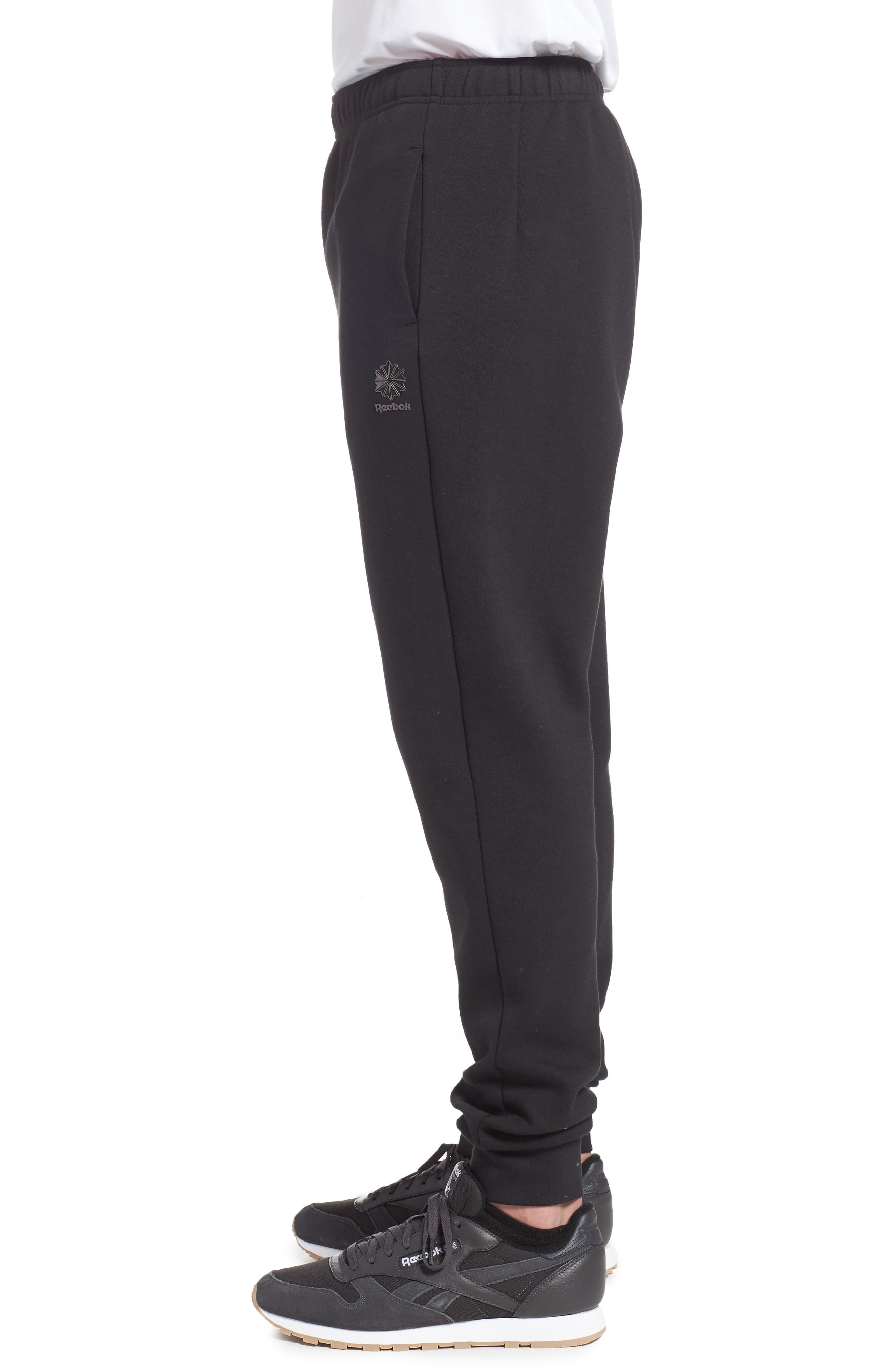 Classic Dynamic Knit Jogger Pants,                             Alternate thumbnail 3, color,                             005