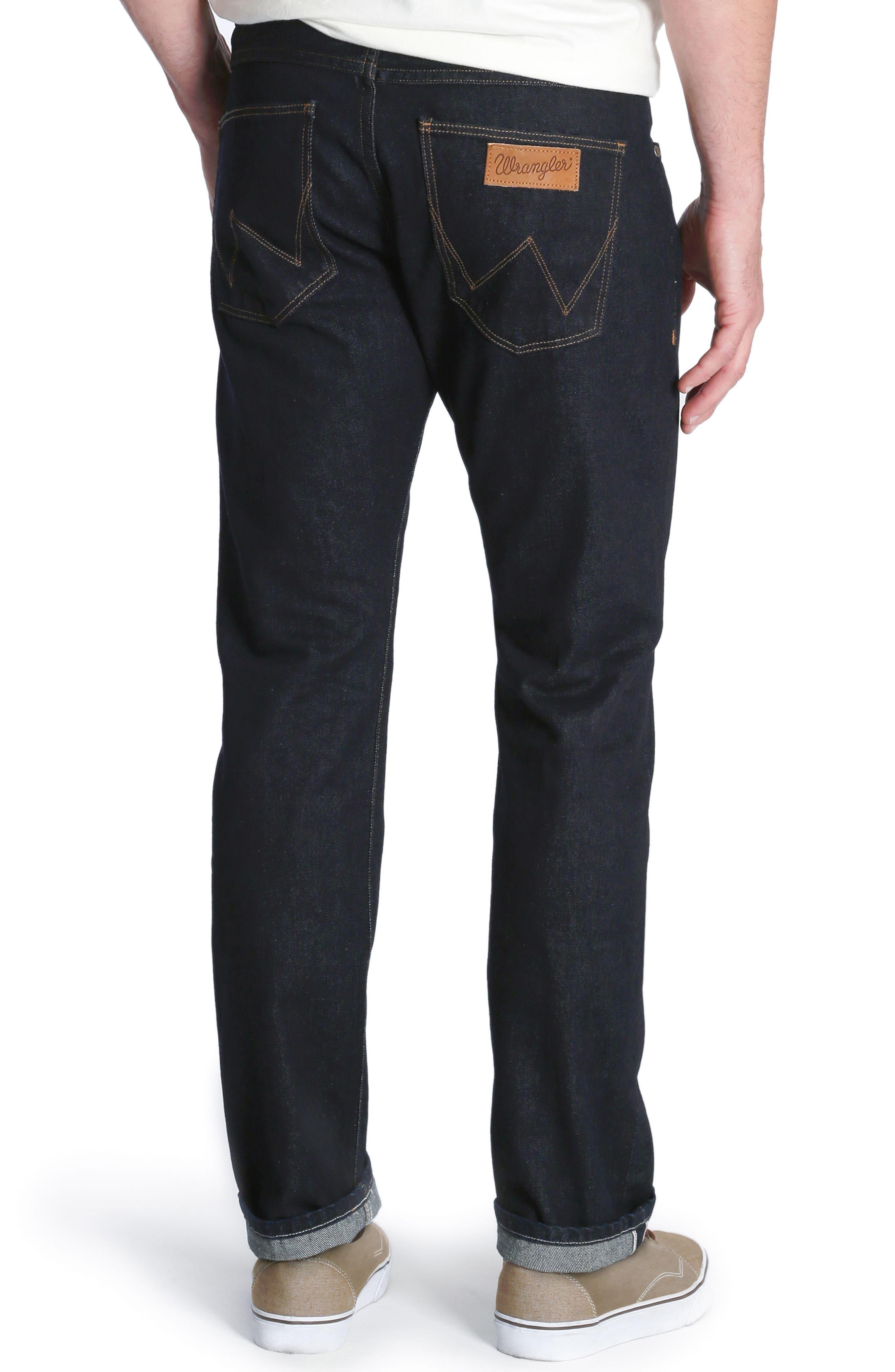 Spencer Selvedge Slim Straight Leg Jeans,                             Alternate thumbnail 2, color,                             468