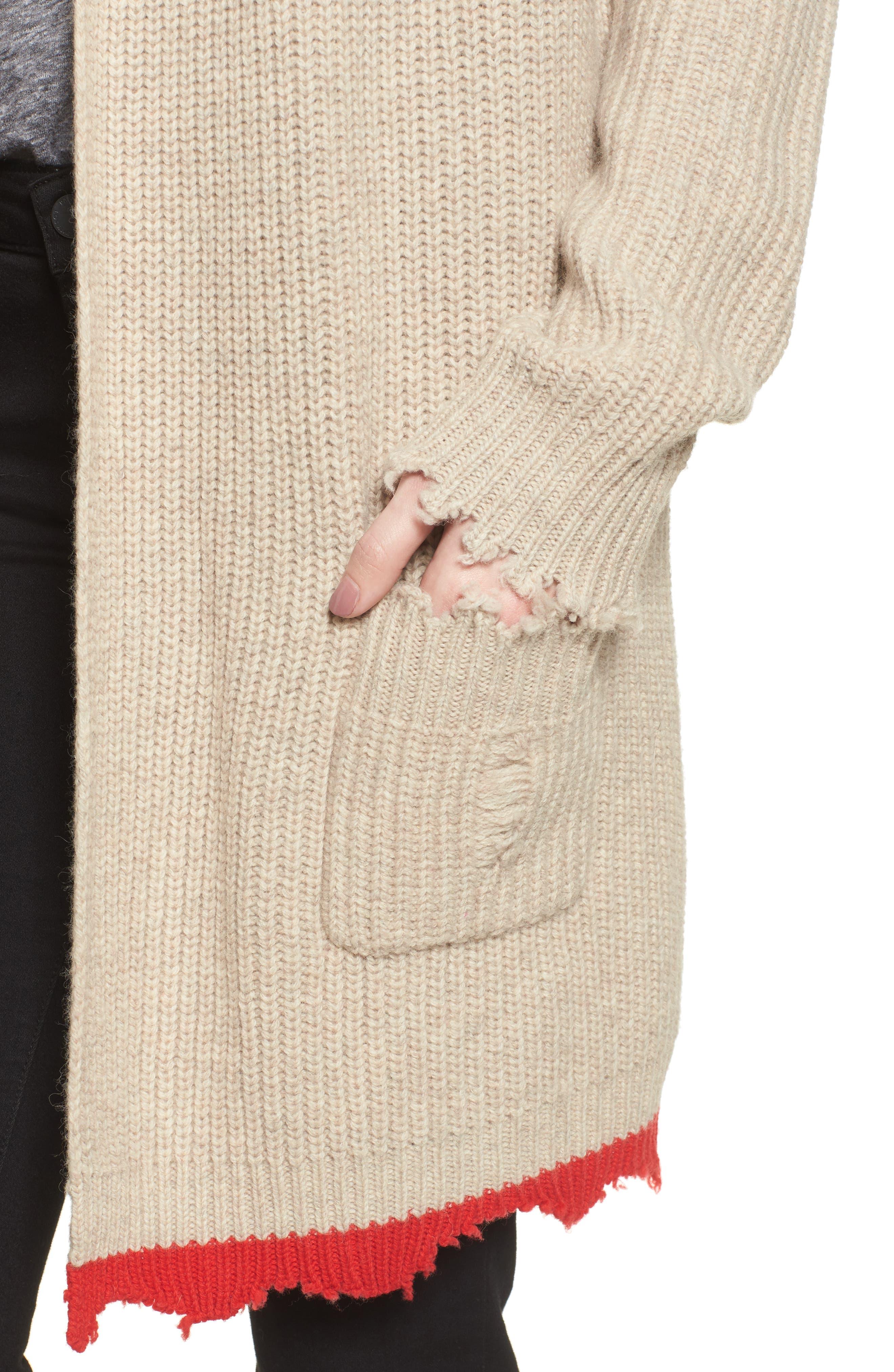 Rita Cardigan Sweater,                             Alternate thumbnail 4, color,