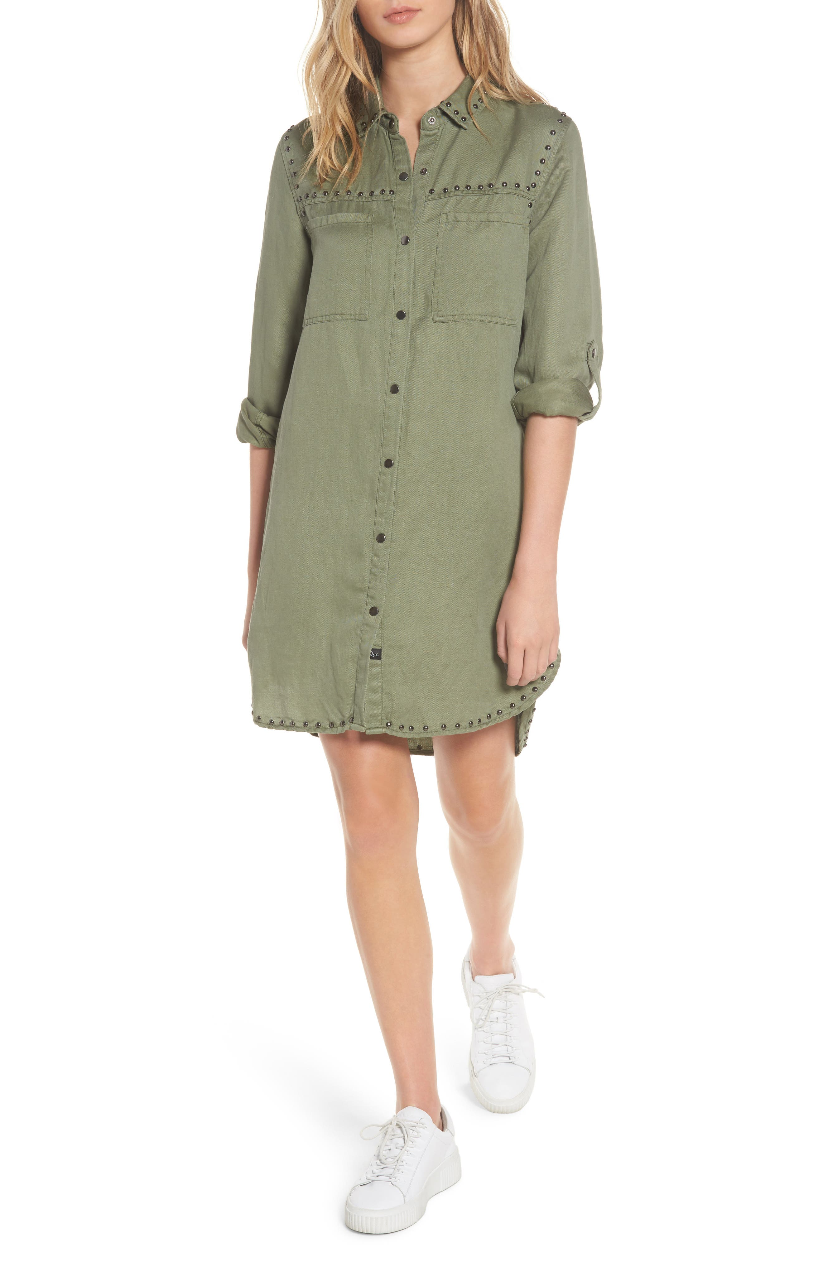 Bowie Shirtdress,                         Main,                         color, 307