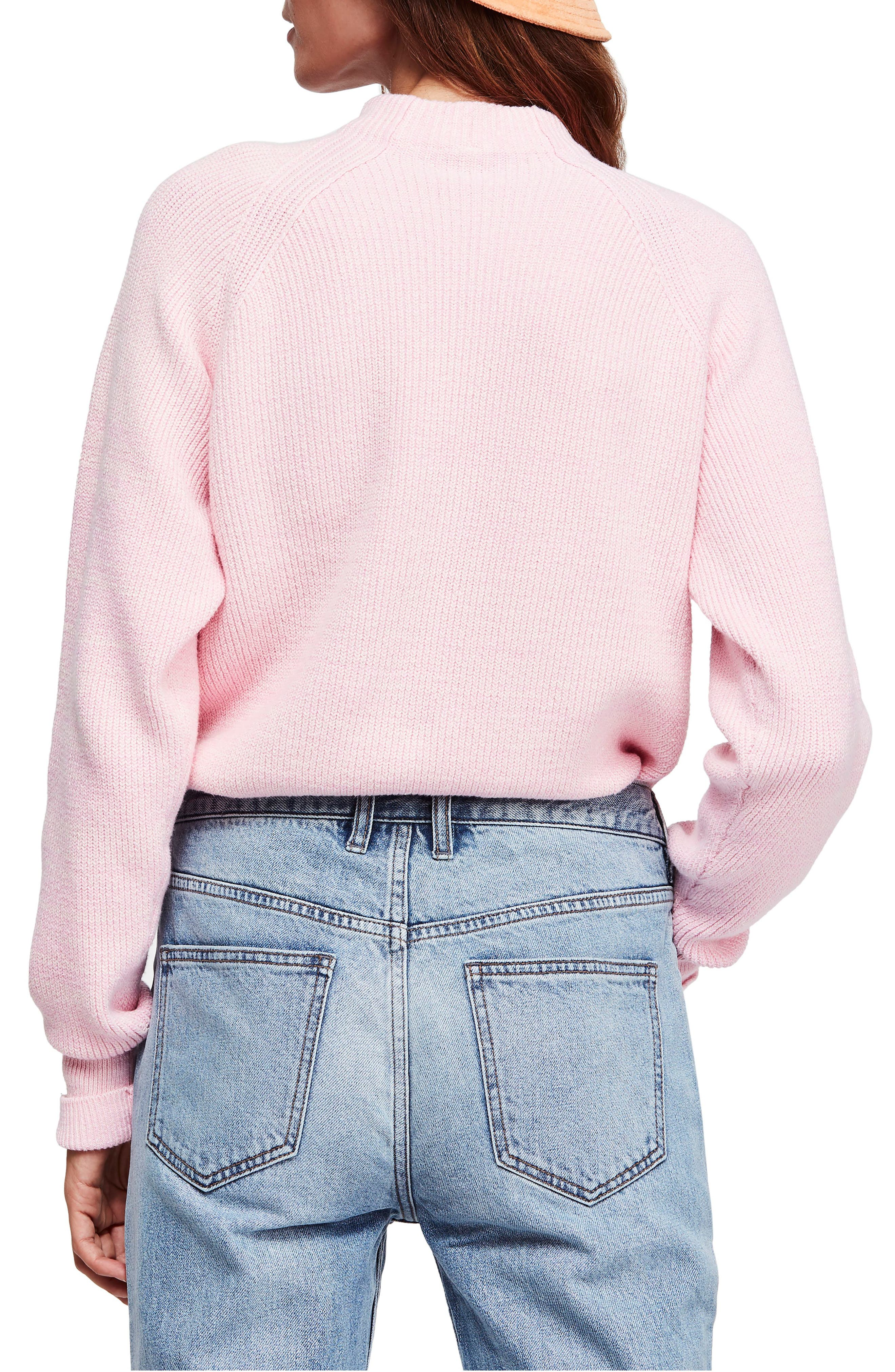 Too Good Sweater,                             Alternate thumbnail 2, color,                             PINK