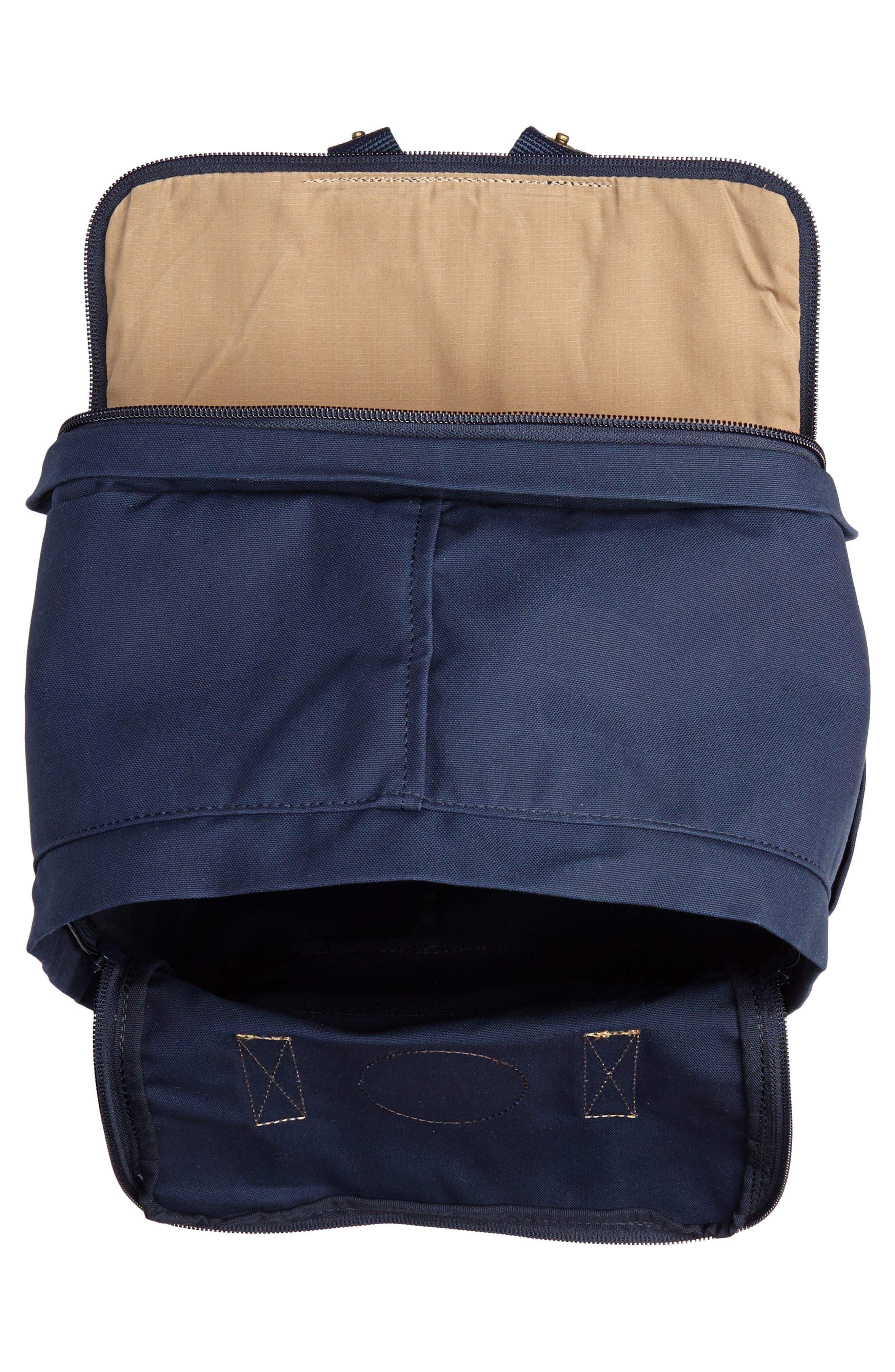 """Kånken No. 2 15"""" Laptop Backpack,                             Alternate thumbnail 4, color,                             NAVY"""