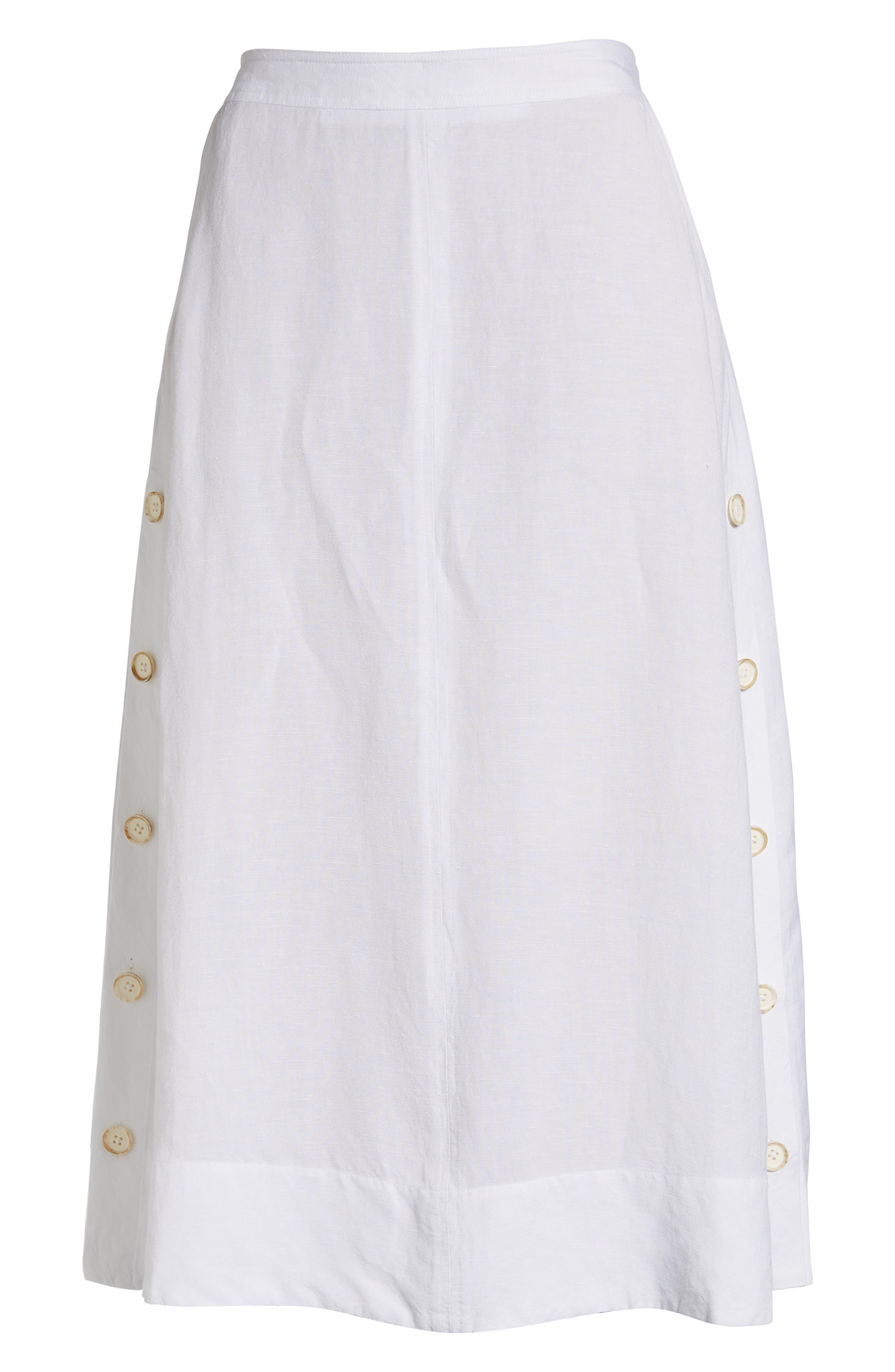 Front Runner Skirt,                             Alternate thumbnail 6, color,                             PAPER WHITE