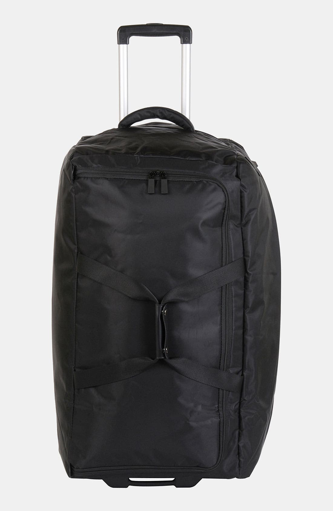 Foldable Rolling Duffel Bag,                             Main thumbnail 1, color,                             001