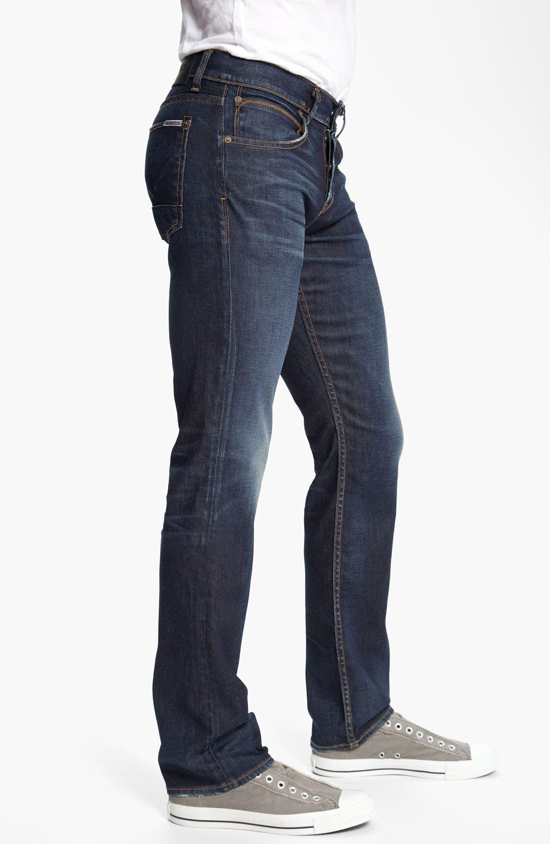HUDSON JEANS,                             Hudson 'Byron' Slim Straight Leg Jeans,                             Alternate thumbnail 4, color,                             402