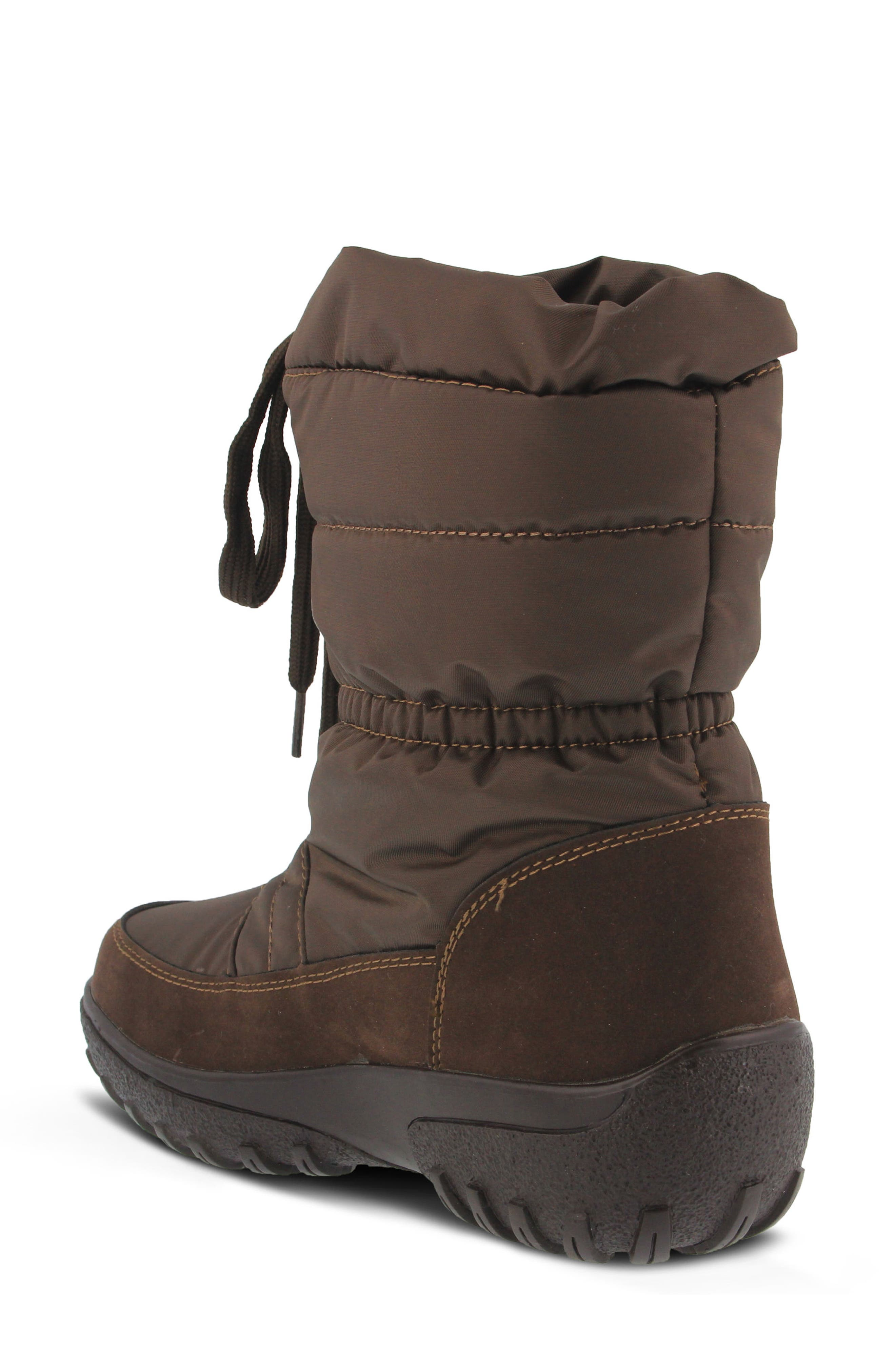 Lucerne Waterproof Drawstring Boot,                             Alternate thumbnail 4, color,