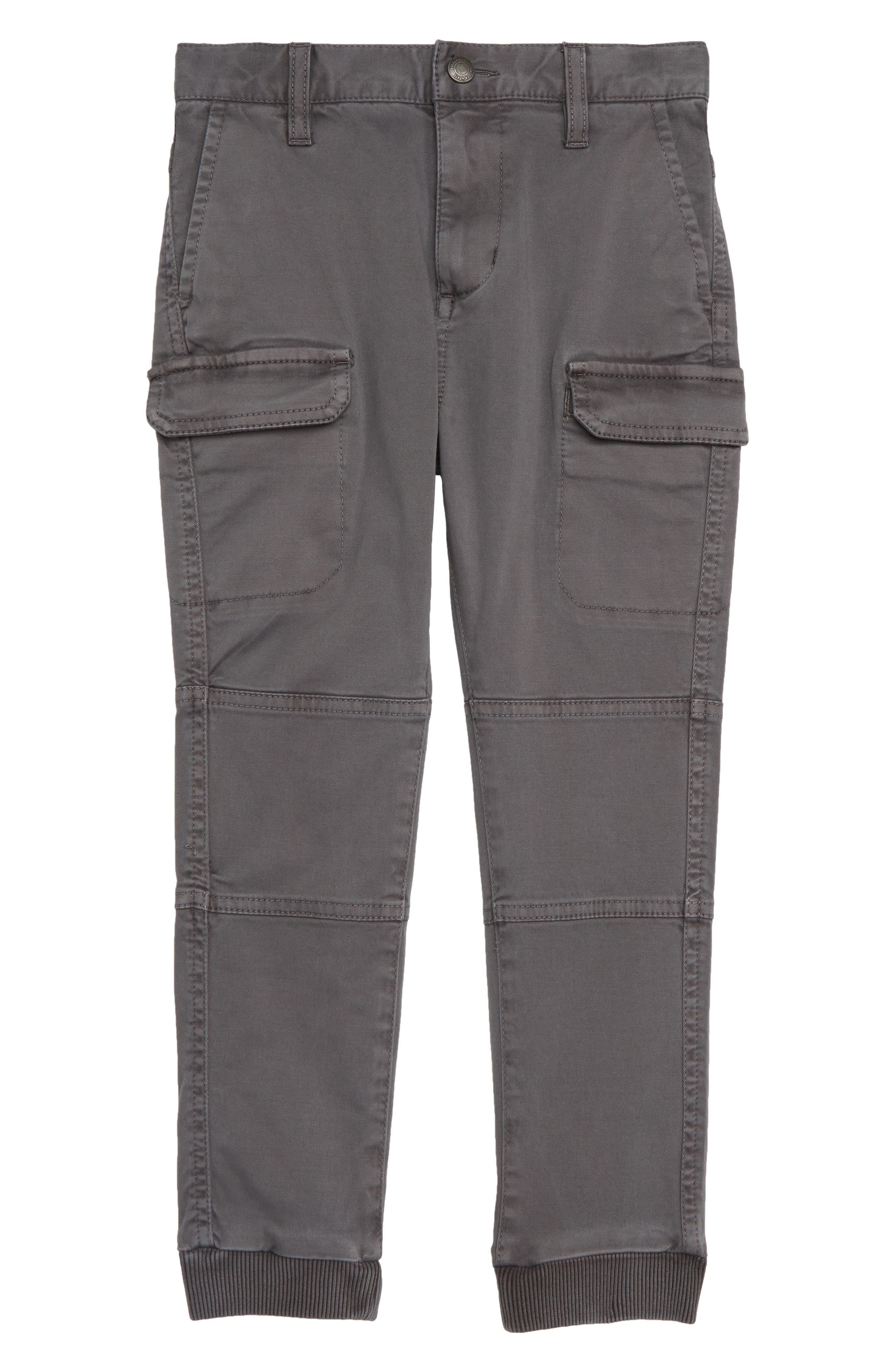 Cargo Jogger Pants,                             Main thumbnail 1, color,                             GREY CASTLEROCK