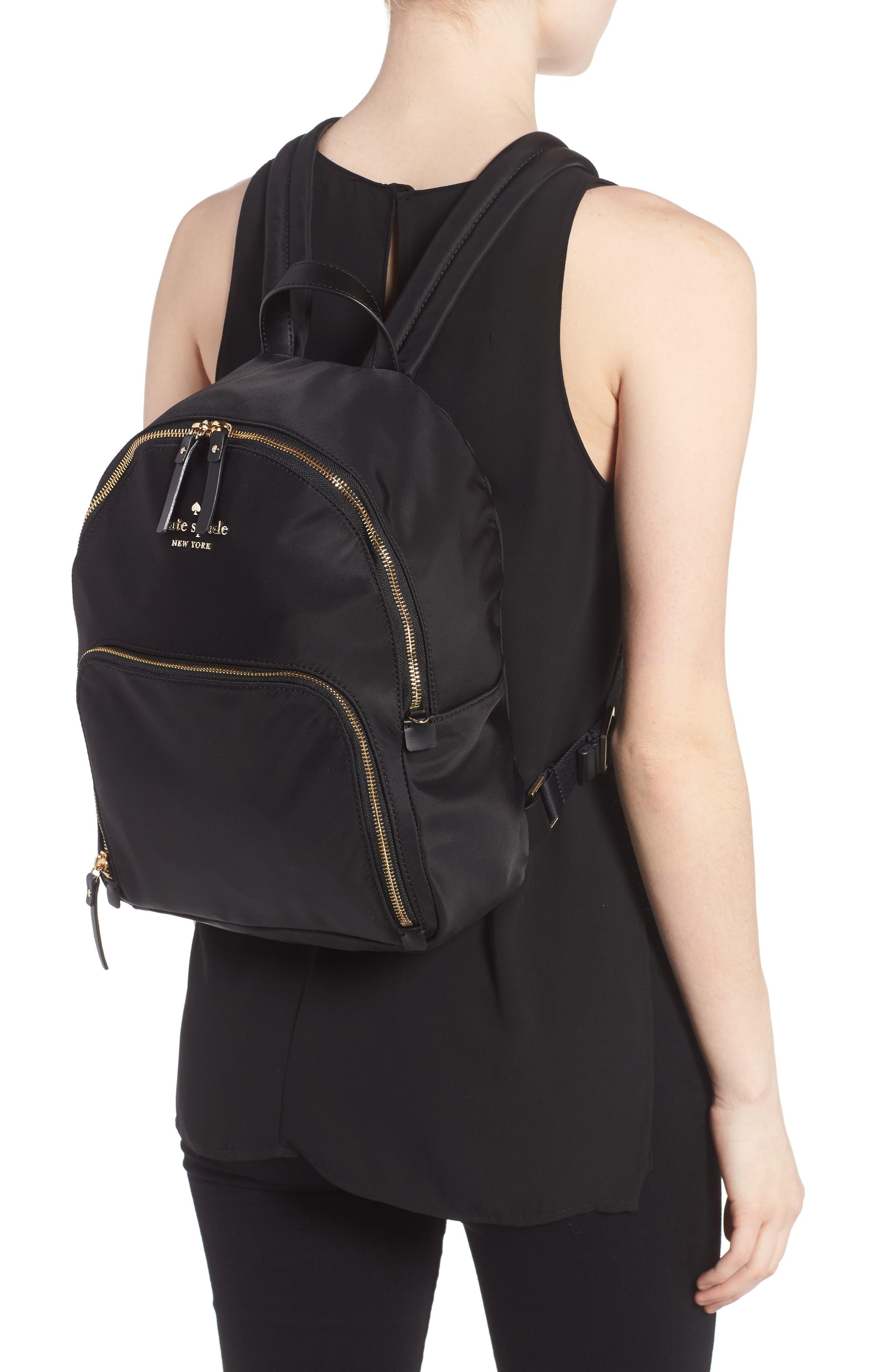 watson lane - hartley nylon backpack,                             Alternate thumbnail 2, color,                             BLACK