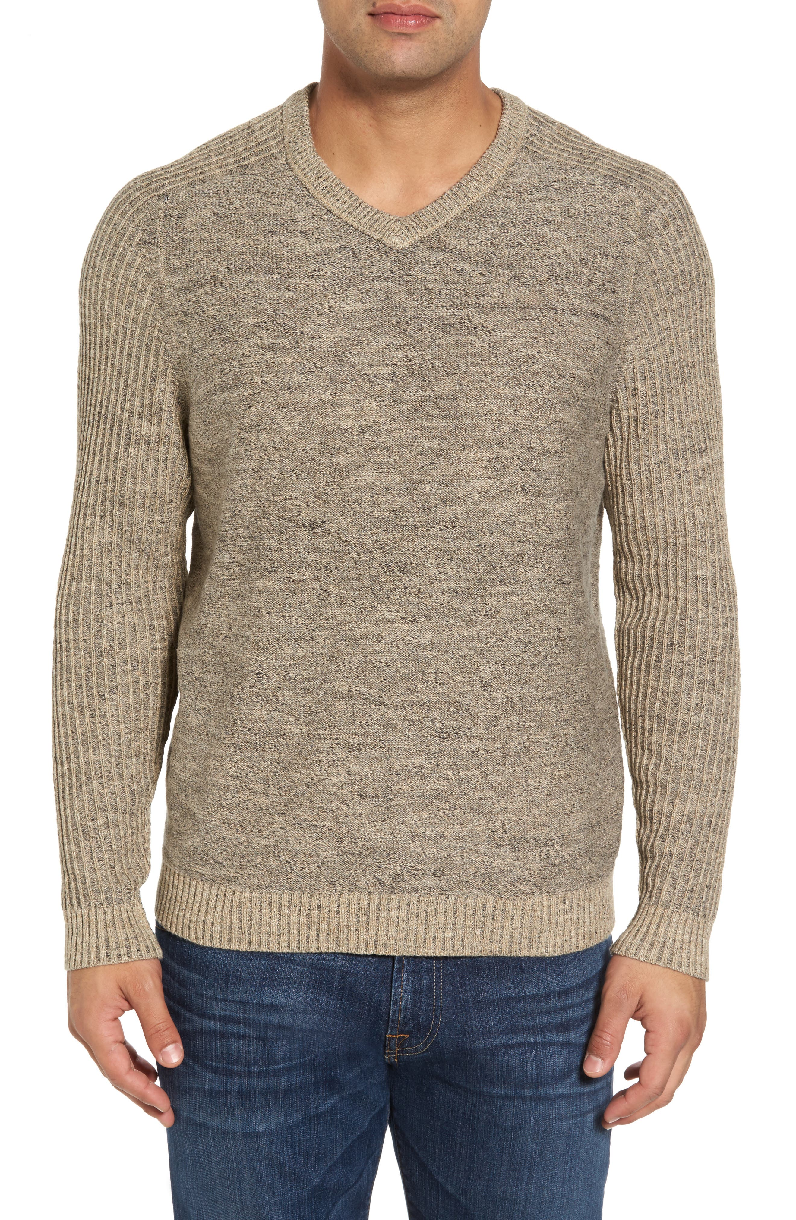Gran Rey Flip Reversible Cotton & Wool Sweater,                             Alternate thumbnail 8, color,