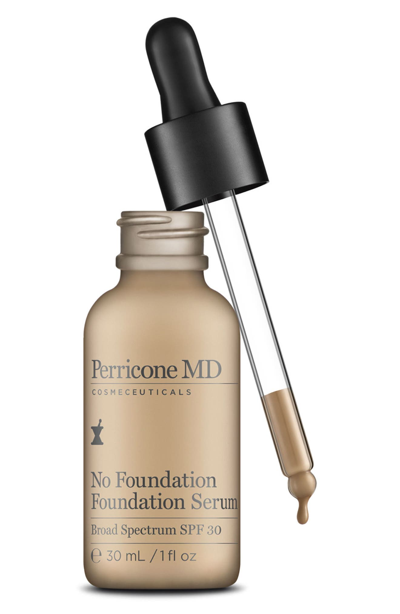 'No Foundation' Foundation Serum Broad Spectrum SPF 30,                             Alternate thumbnail 3, color,                             NO COLOR