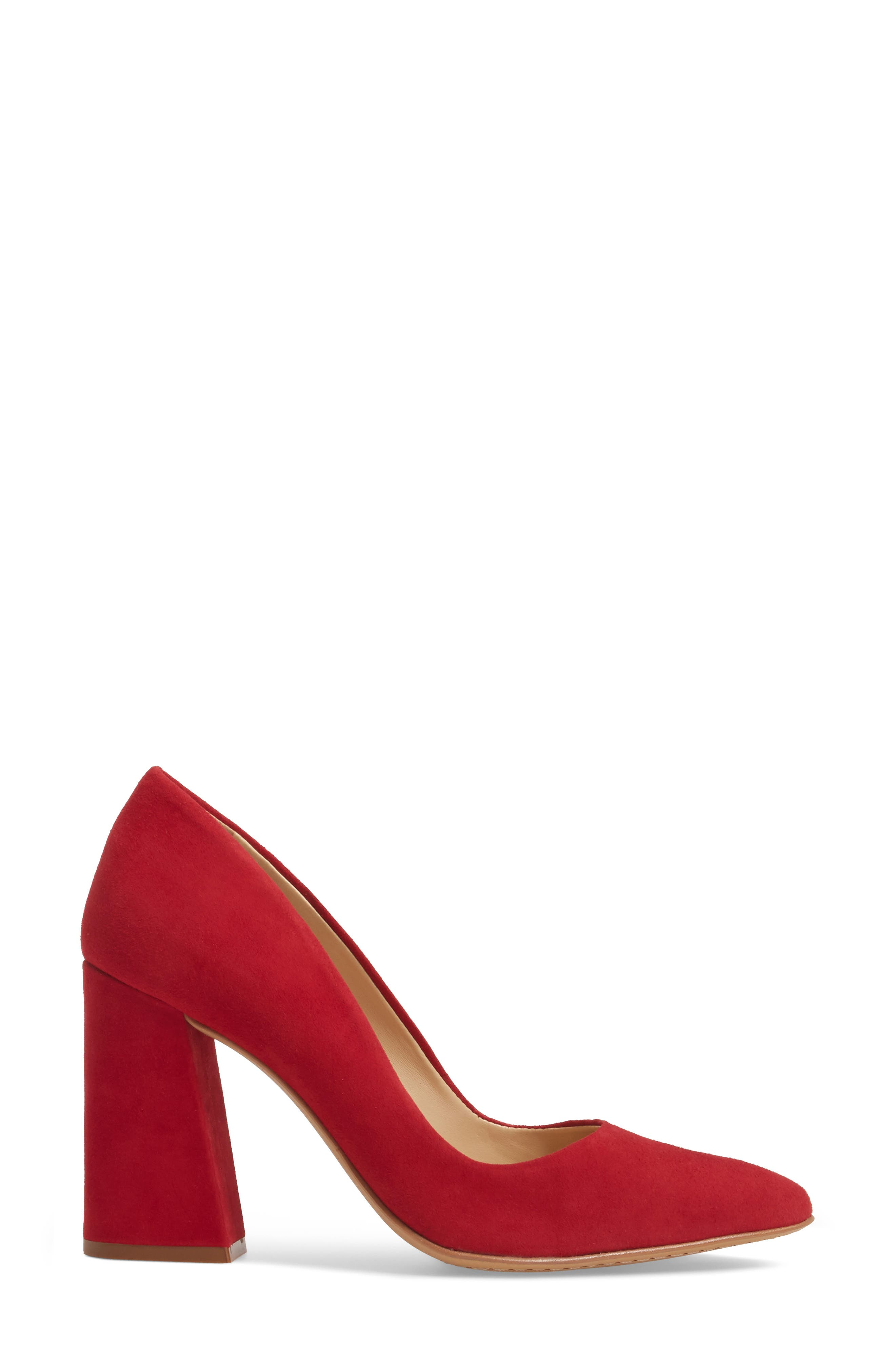Talise Genuine Calf Hair Pointy Toe Pump,                             Alternate thumbnail 37, color,