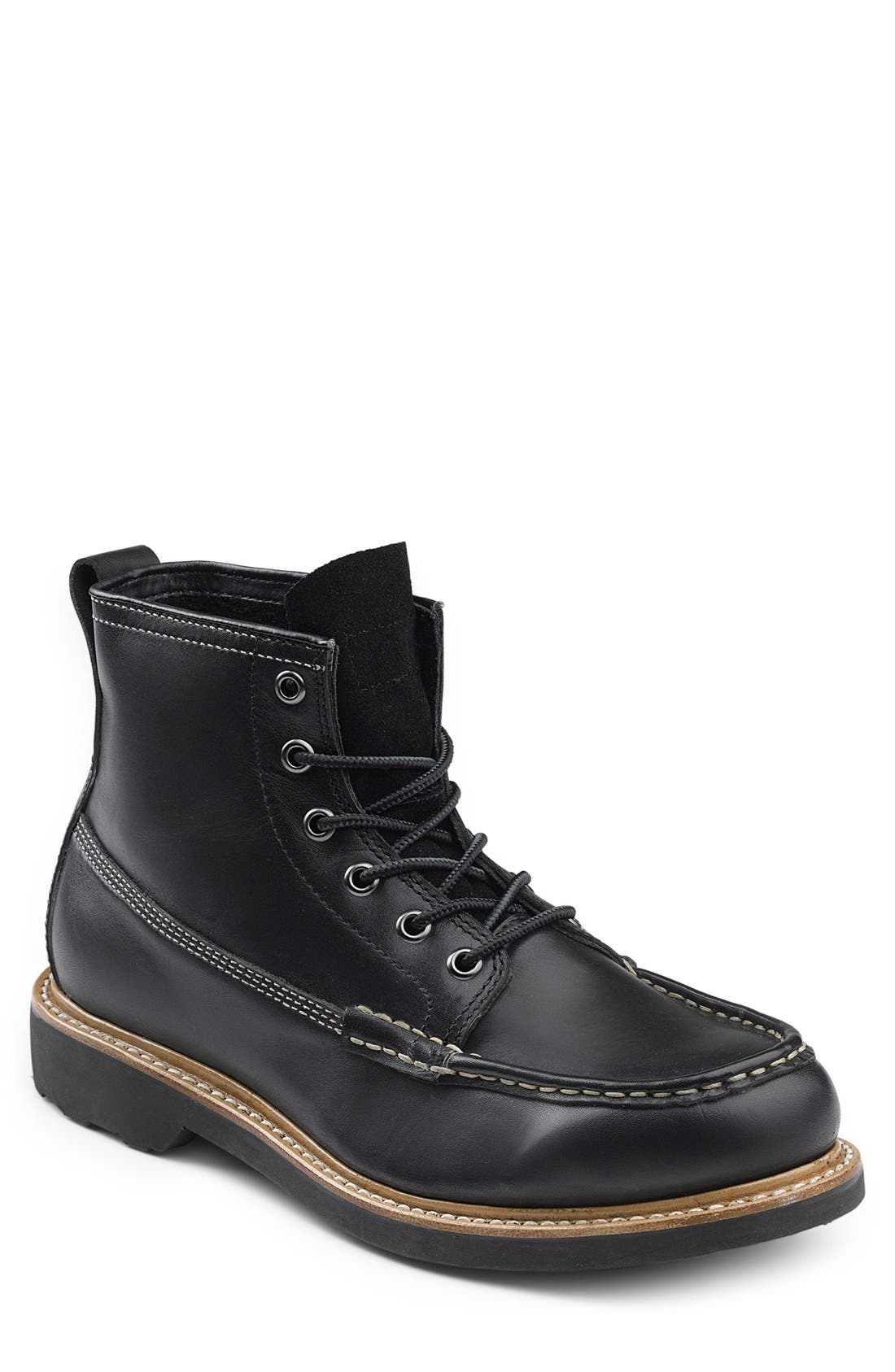 'Ashby' Moc Toe Boot,                         Main,                         color,