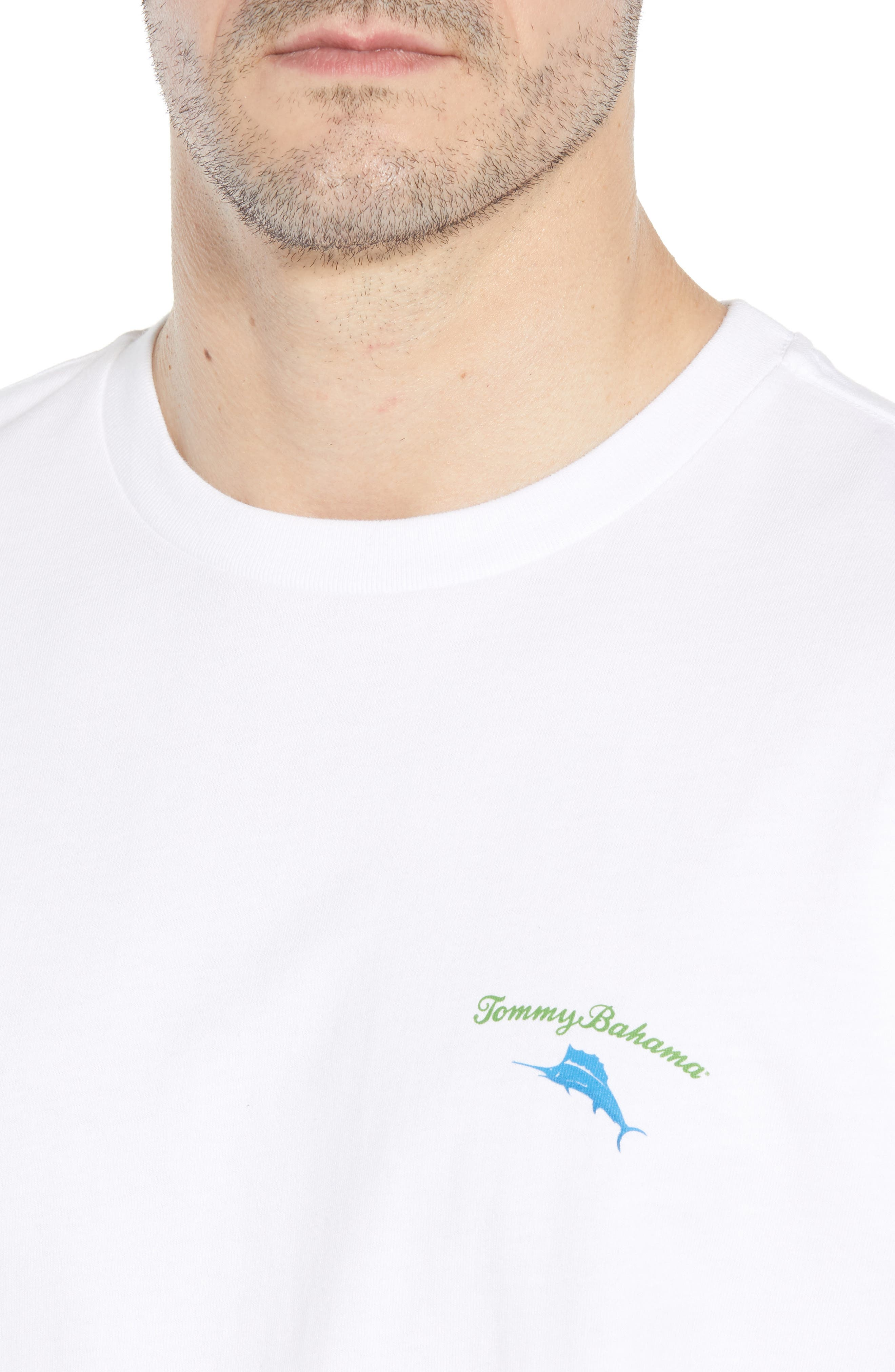 Live the Island Life Graphic T-Shirt,                             Alternate thumbnail 4, color,
