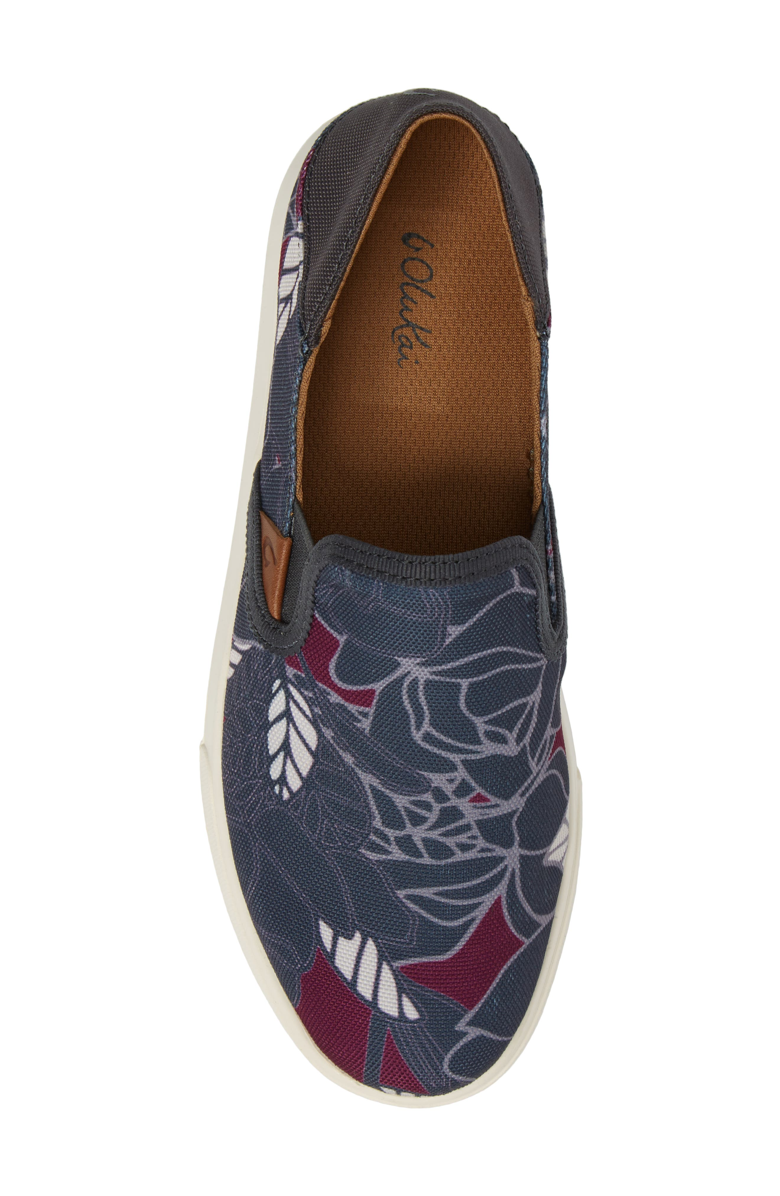 Pehuea Print Slip-On Sneaker,                             Alternate thumbnail 5, color,                             027