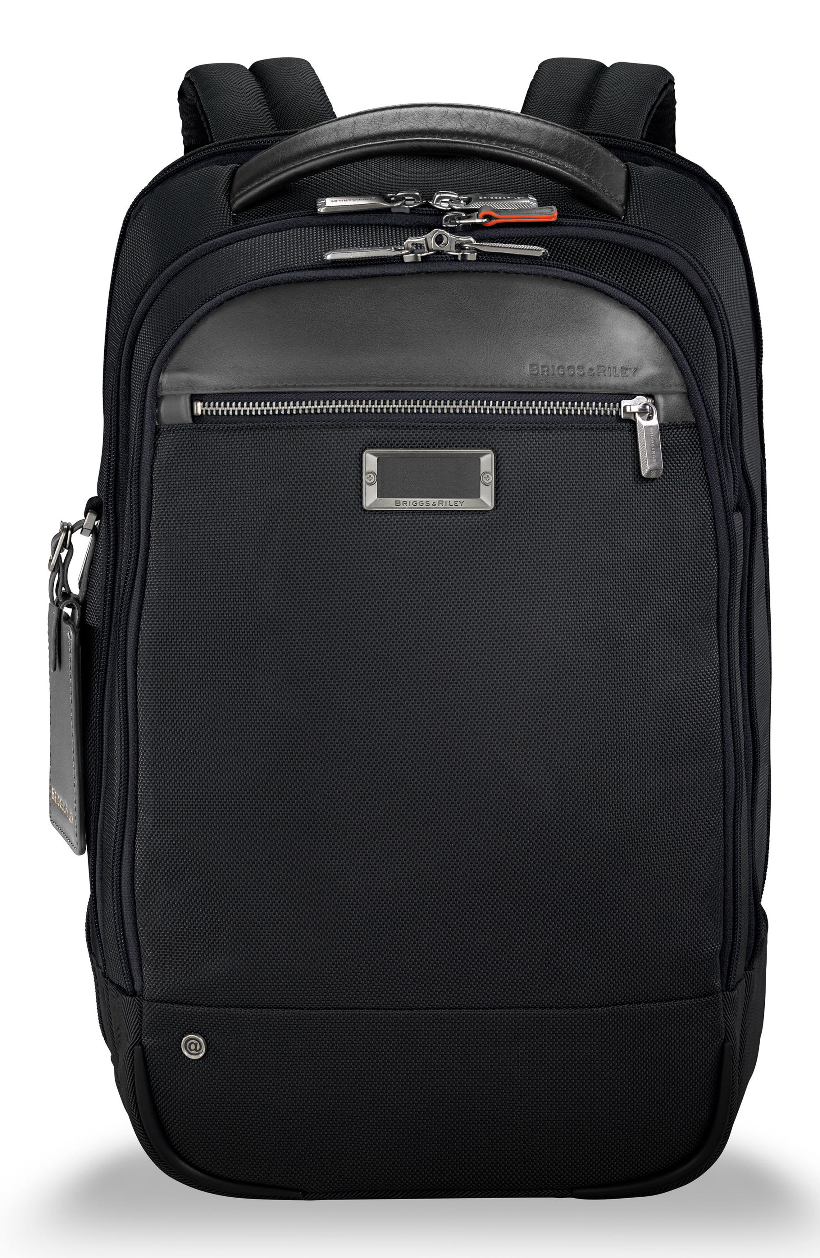 @work Medium Backpack,                         Main,                         color, BLACK