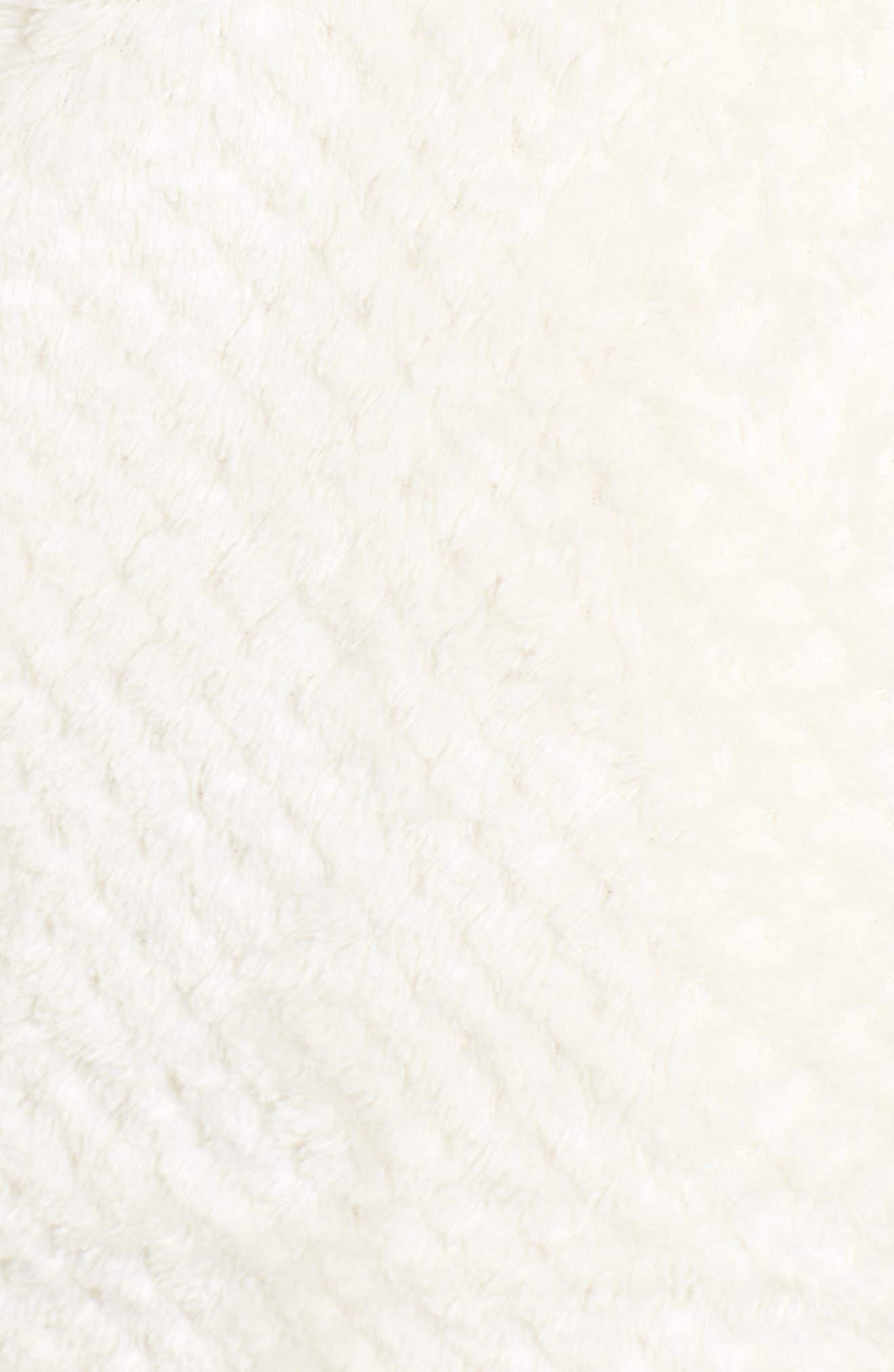 ZELLA,                             Diamond Fleece Jacket,                             Alternate thumbnail 10, color,                             IVORY CLOUD