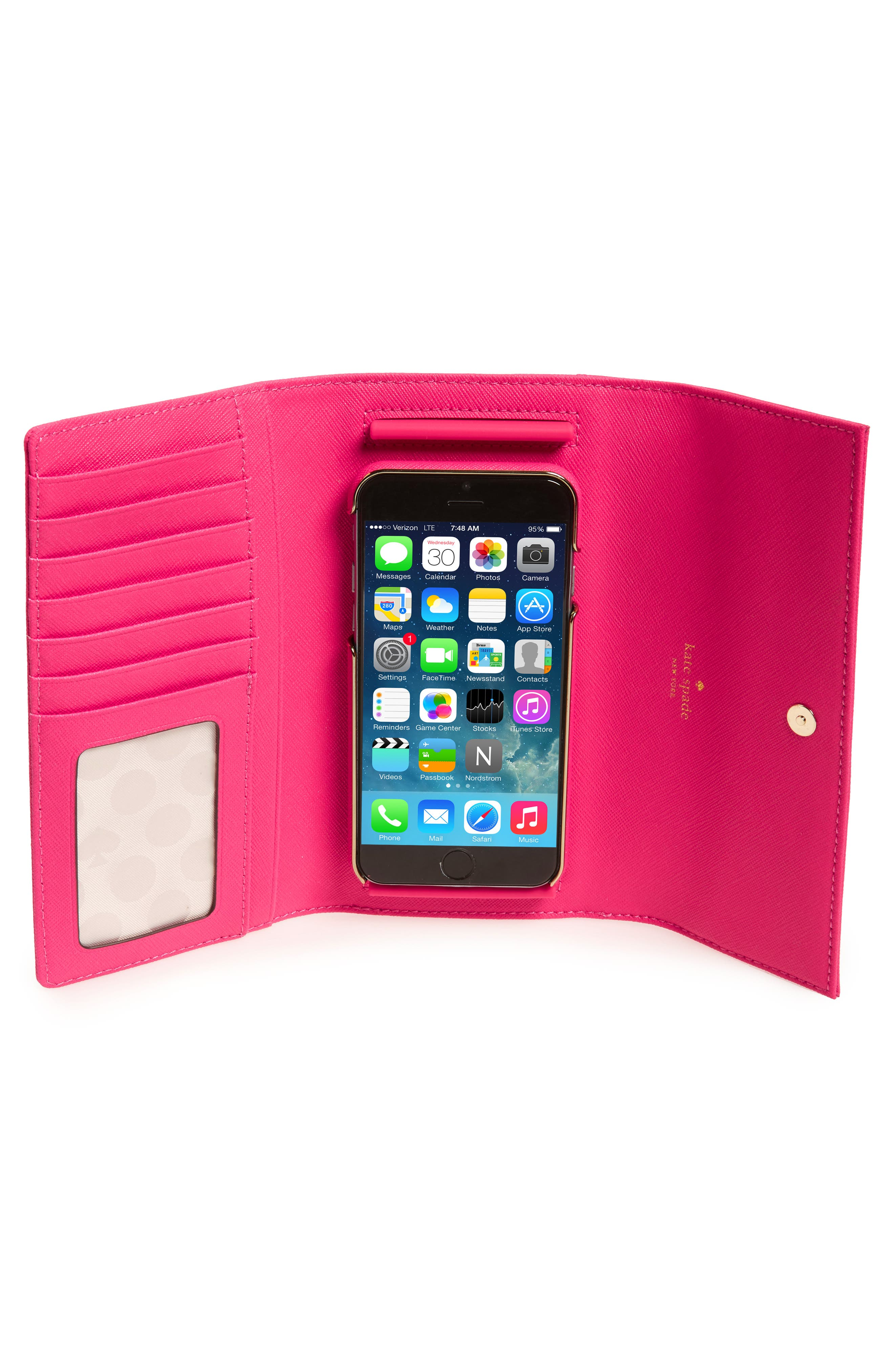 leather iPhone 7/8 & 7/8 Plus case,                             Alternate thumbnail 23, color,