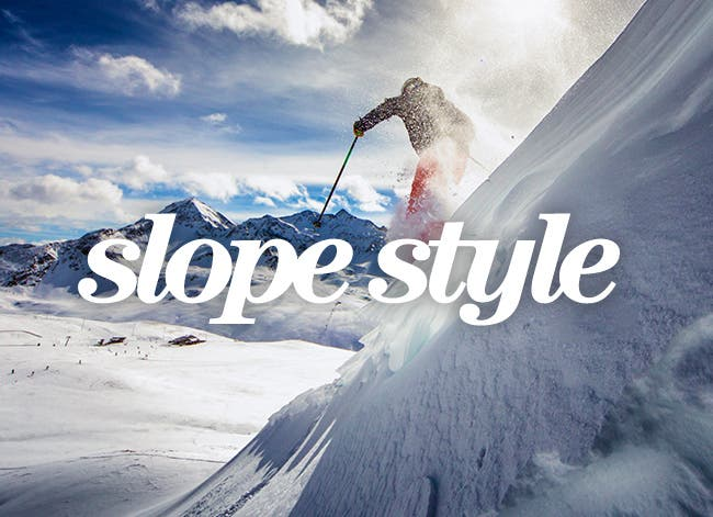 Women's slope style.