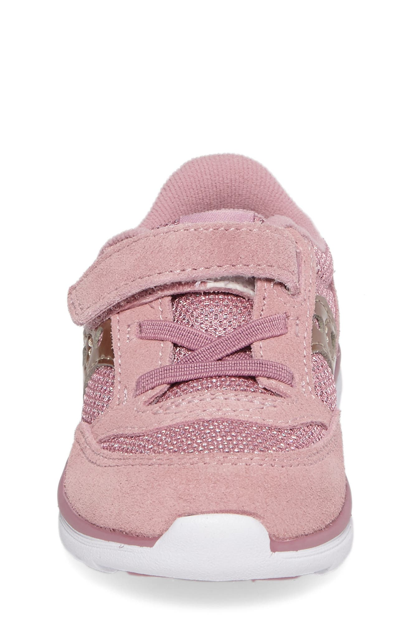 Jazz Lite Sneaker,                             Alternate thumbnail 4, color,                             BLUSH METALLIC