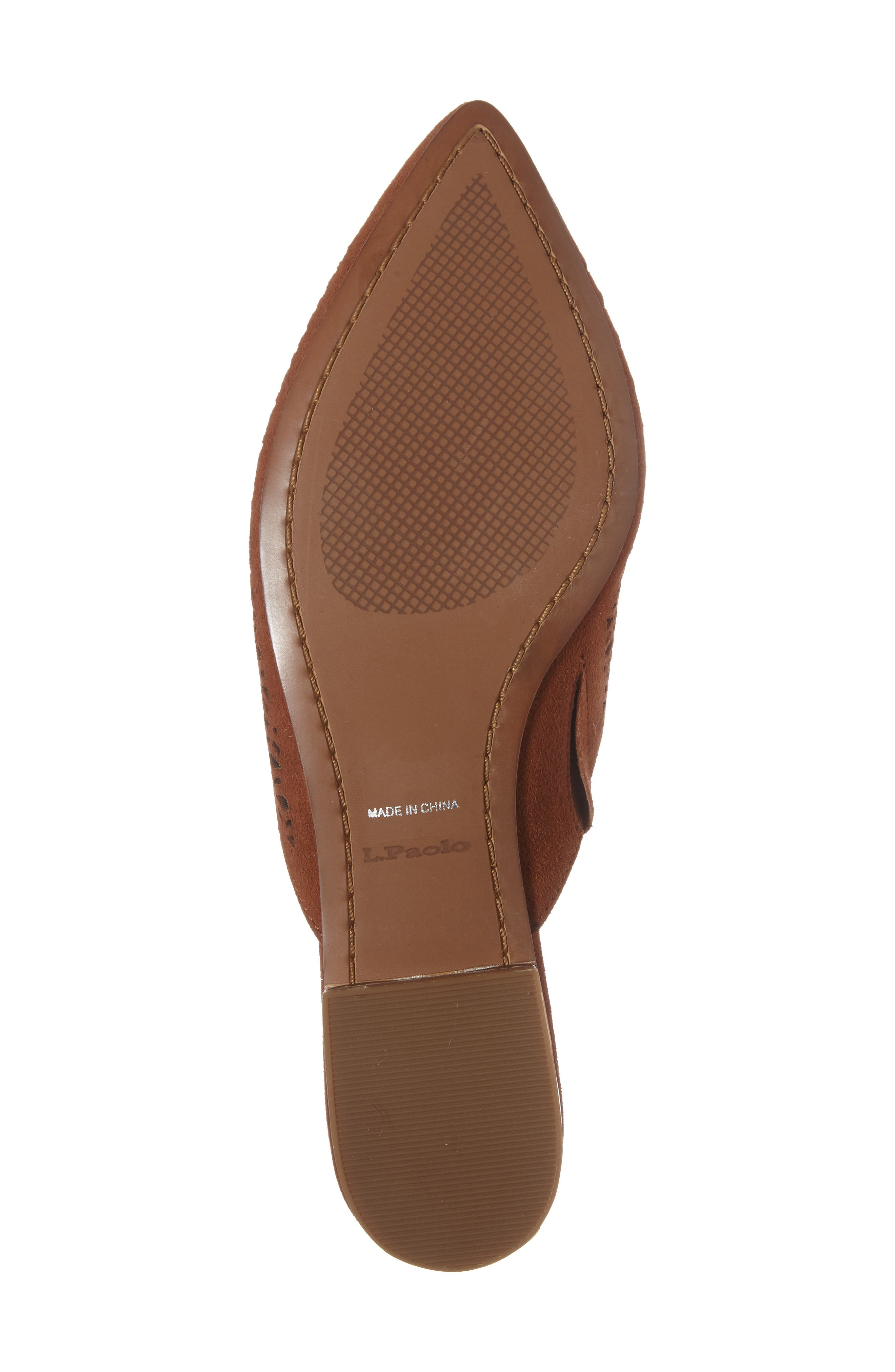Daisy Perforated Mule,                             Alternate thumbnail 16, color,