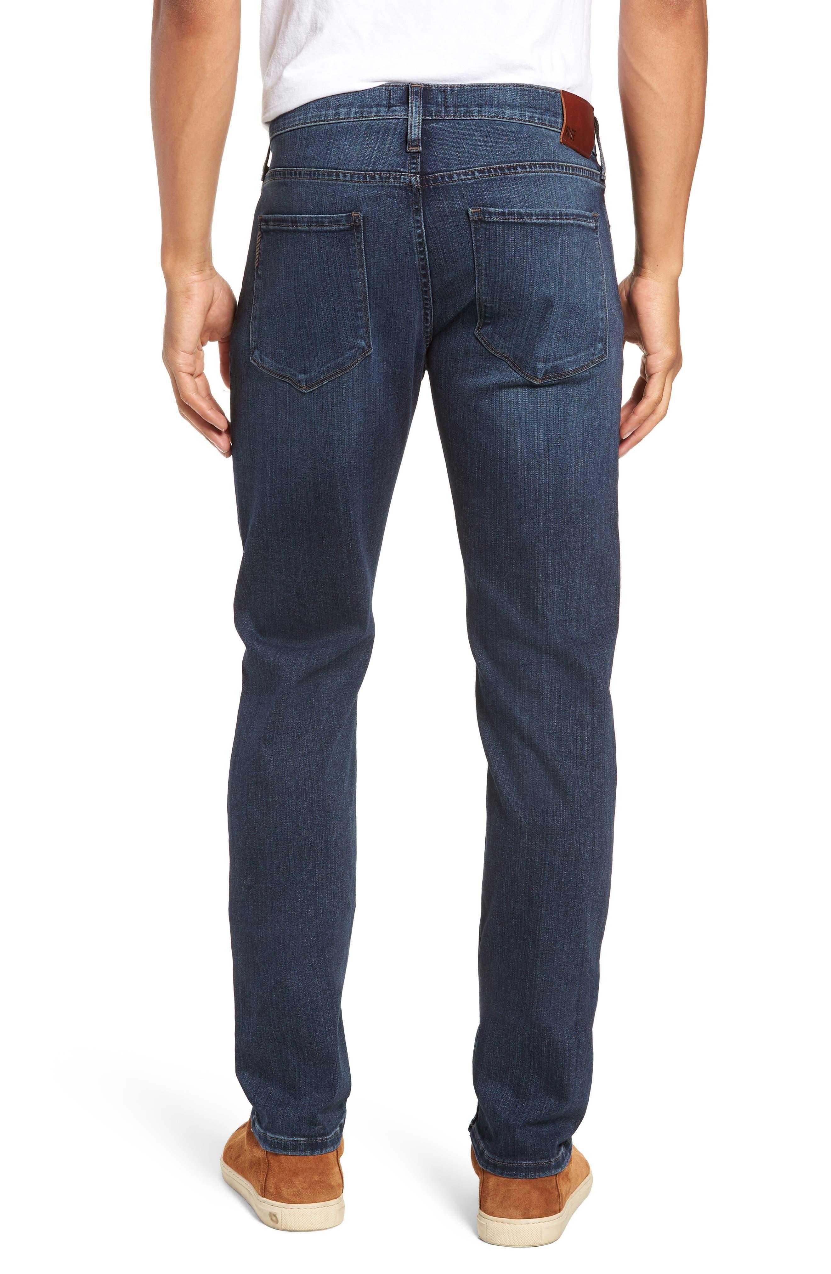 Transcend - Lennox Slim Fit Jeans,                             Alternate thumbnail 2, color,                             400