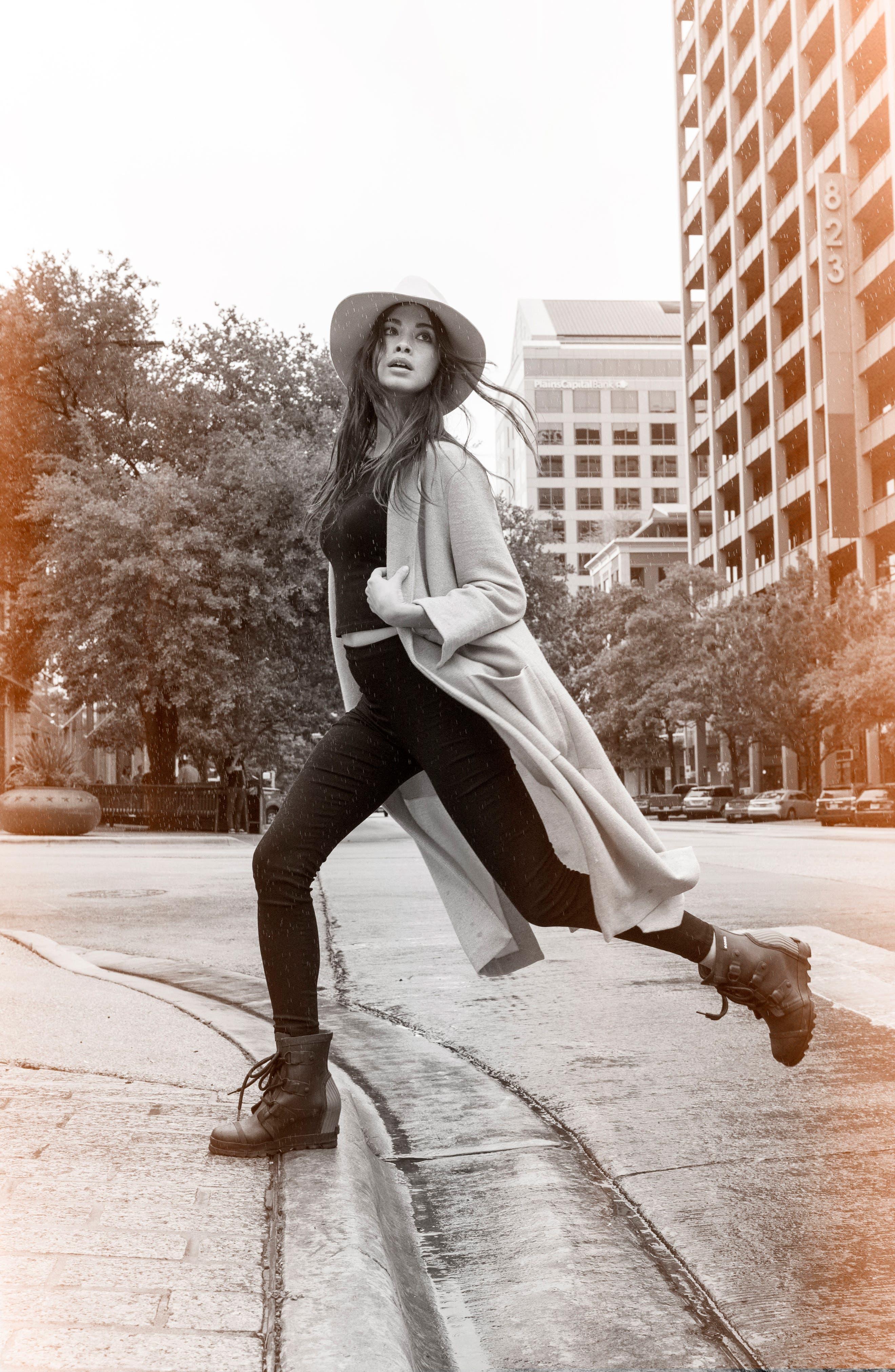 Joan Wedge Rain Boot,                             Alternate thumbnail 16, color,