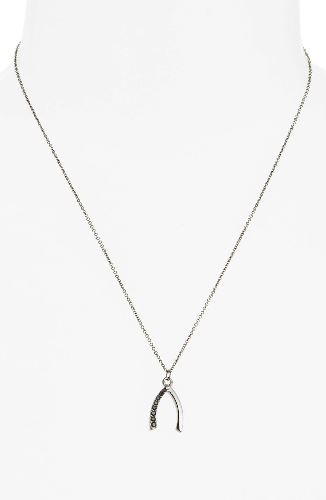 'Jewel Box' Wishbone Pendant Necklace,                             Alternate thumbnail 3, color,